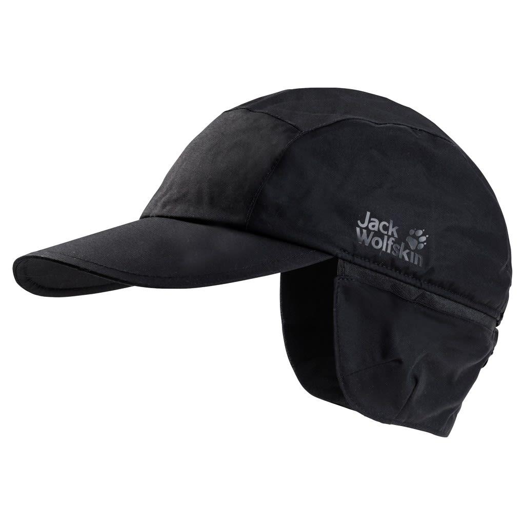 Jack Wolfskin Texapore Winter Cap Schwarz, L -Farbe Black, L