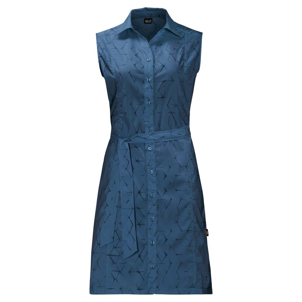 Jack Wolfskin W Sonora Shibori Dress | Größe XS,S,M,L,XL,XXL | Damen Kleider