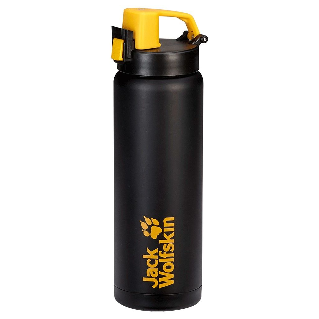 Jack Wolfskin Thermo Sport Bottle Grip 0.5 Schwarz, 0.5L -Farbe Black, 0.5L