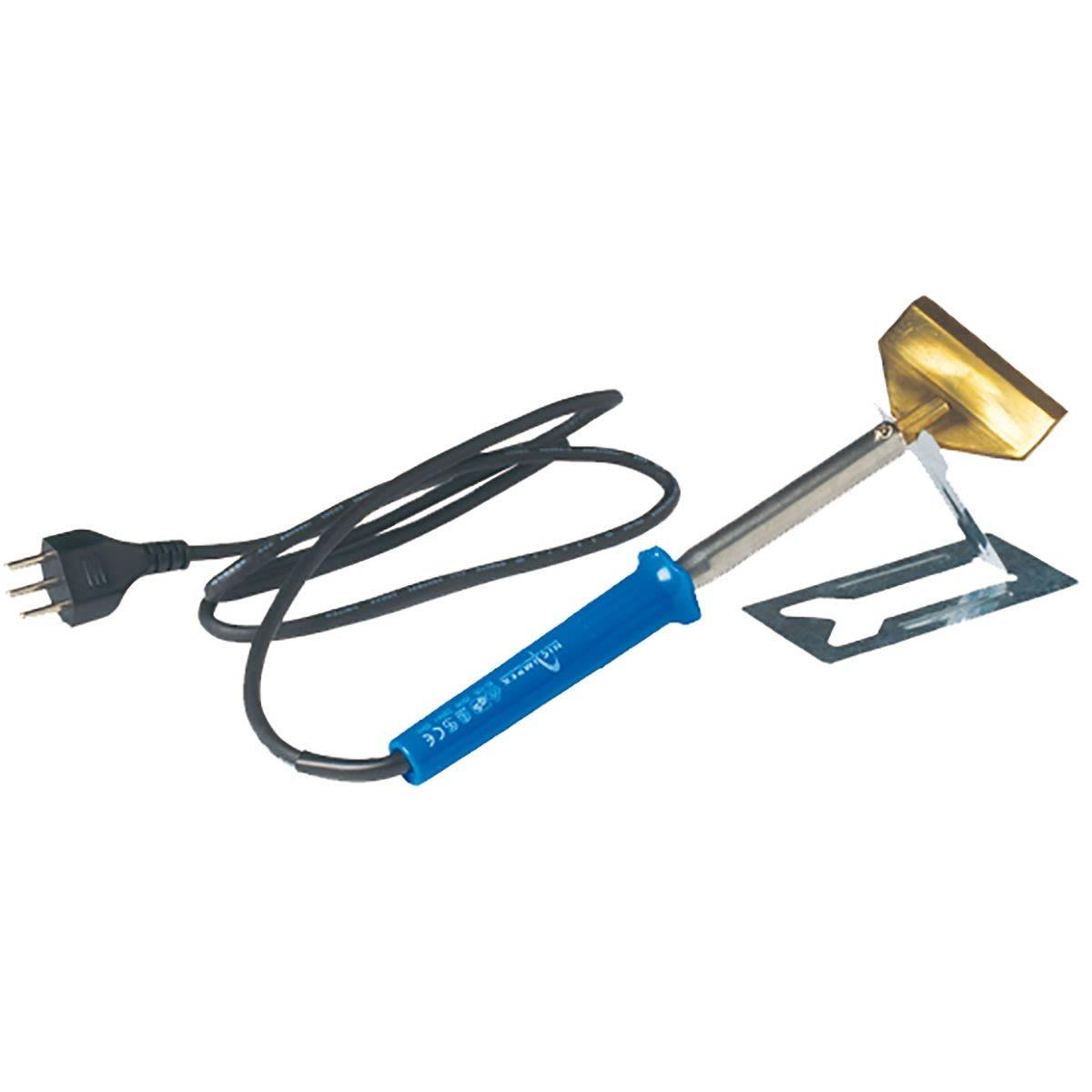 Colltex Lötkolben MIt Spachtelaufsatz Blau, Ski & Tourenski, One Size