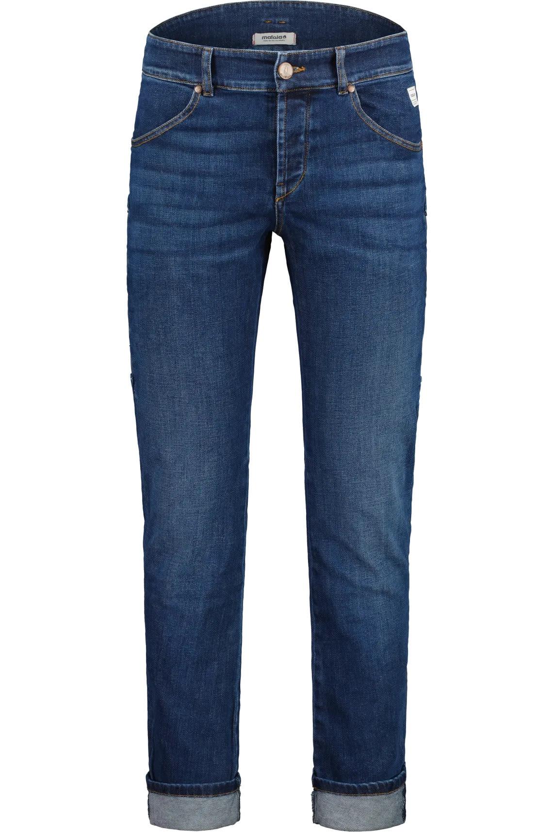 Maloja Blutwurzm. Jeans Blau, Male 32 -32 -Farbe Mountain Lake, 32 -32