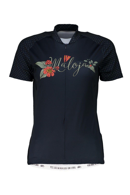Maloja Mitterseem. Short Sleeve 1/2 Blau, Female Kurzarm-Shirt, L