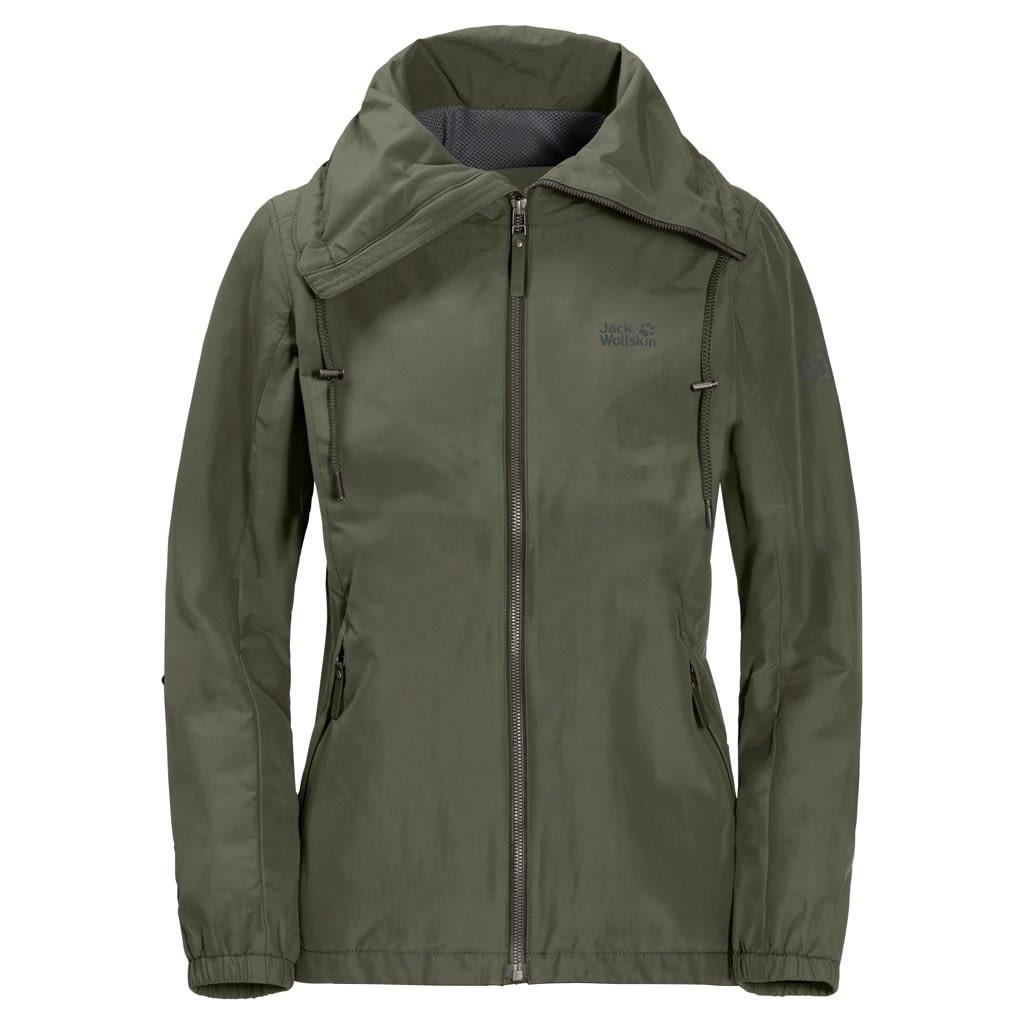 Jack Wolfskin Westwood Jacket Grün, Female XXL -Farbe Woodland Green, XXL