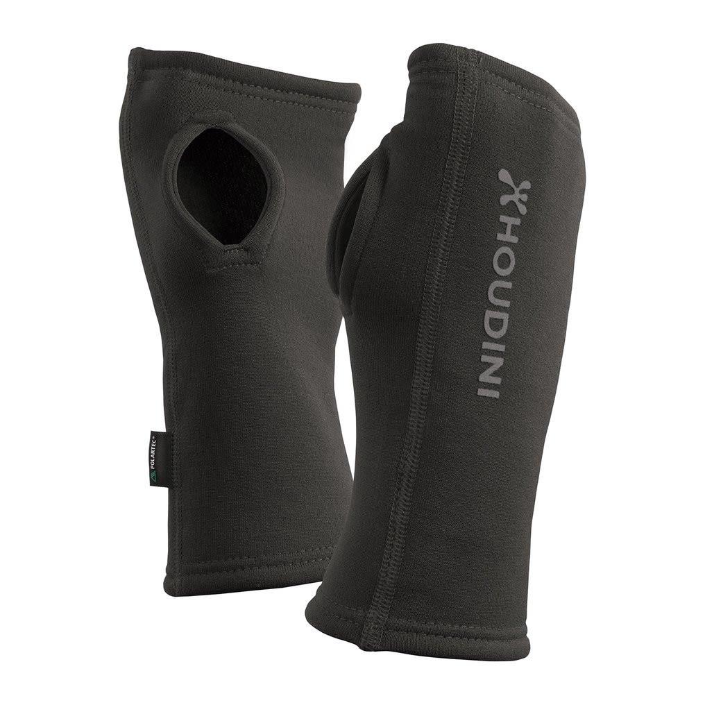 Houdini Power Wrist Gaiters Schwarz, Polartec® Gamaschen, M