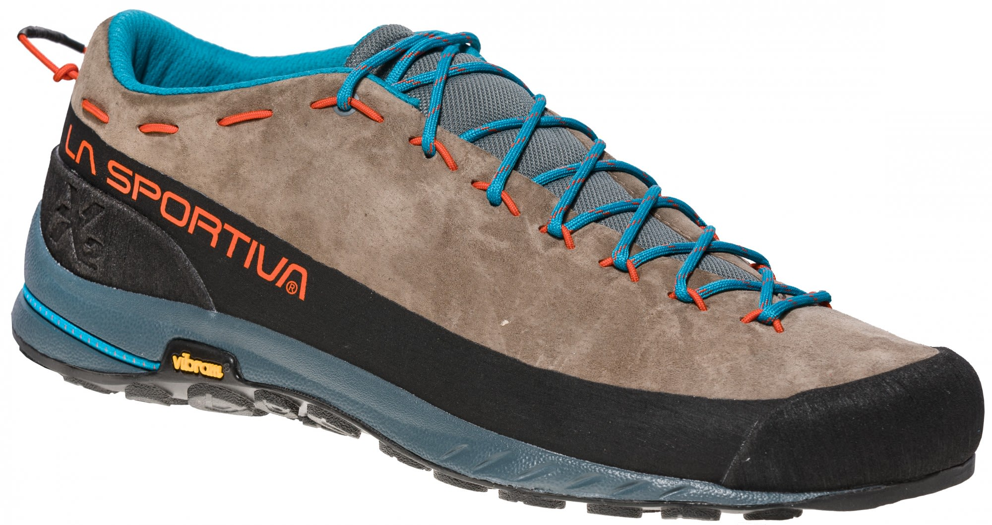La Sportiva TX2 Leather Braun, Male EU 43.5 -Farbe Falcon Brown -Tangerine, 43.5