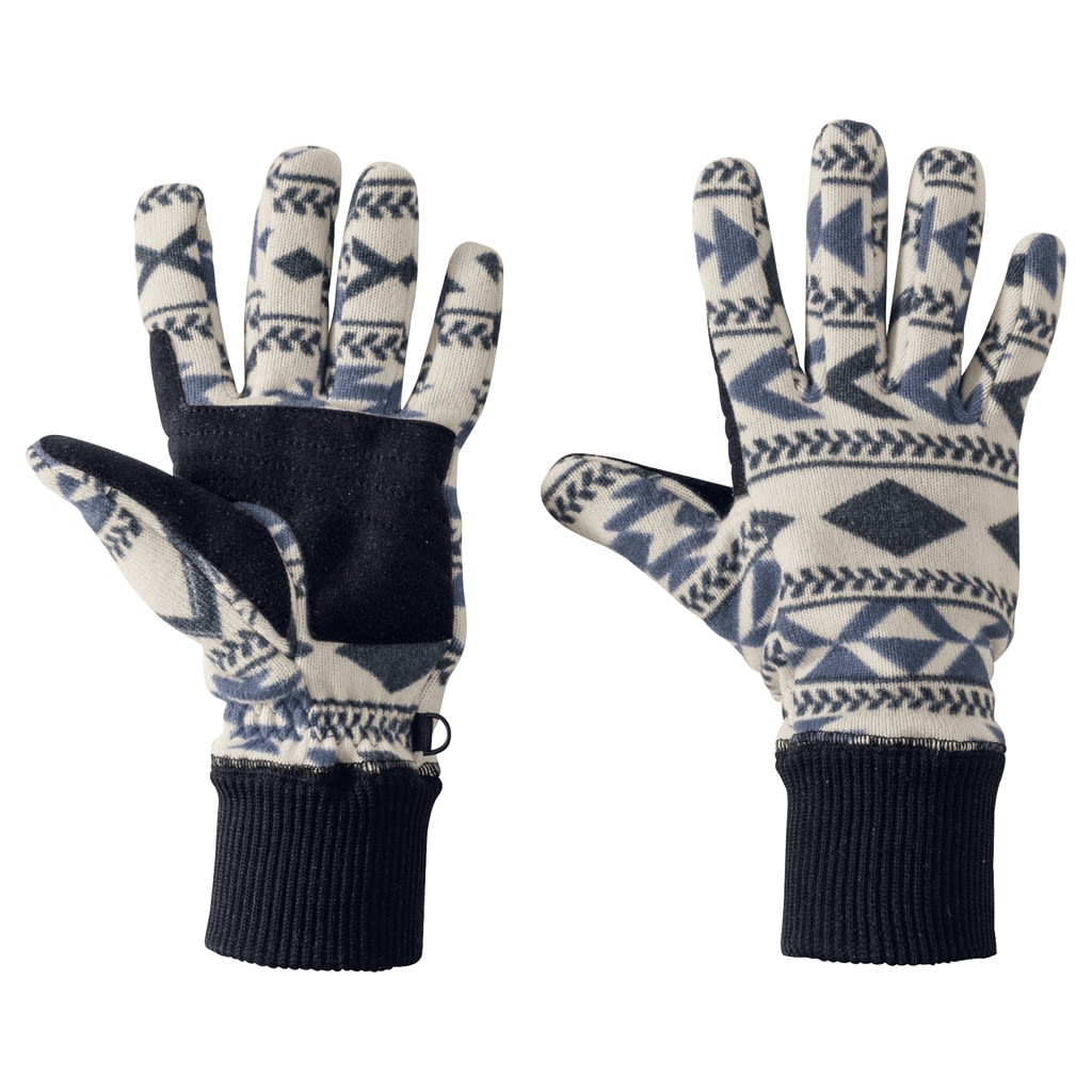 Jack Wolfskin Hazelton Glove Blau, Female L -Farbe Midnight Blue All Over, L