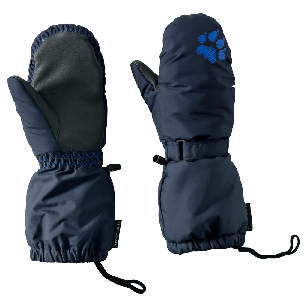 Jack Wolfskin Kids Stormlock PAW Mitten Blau, Thinsulate™ 104 -Farbe Night Blu