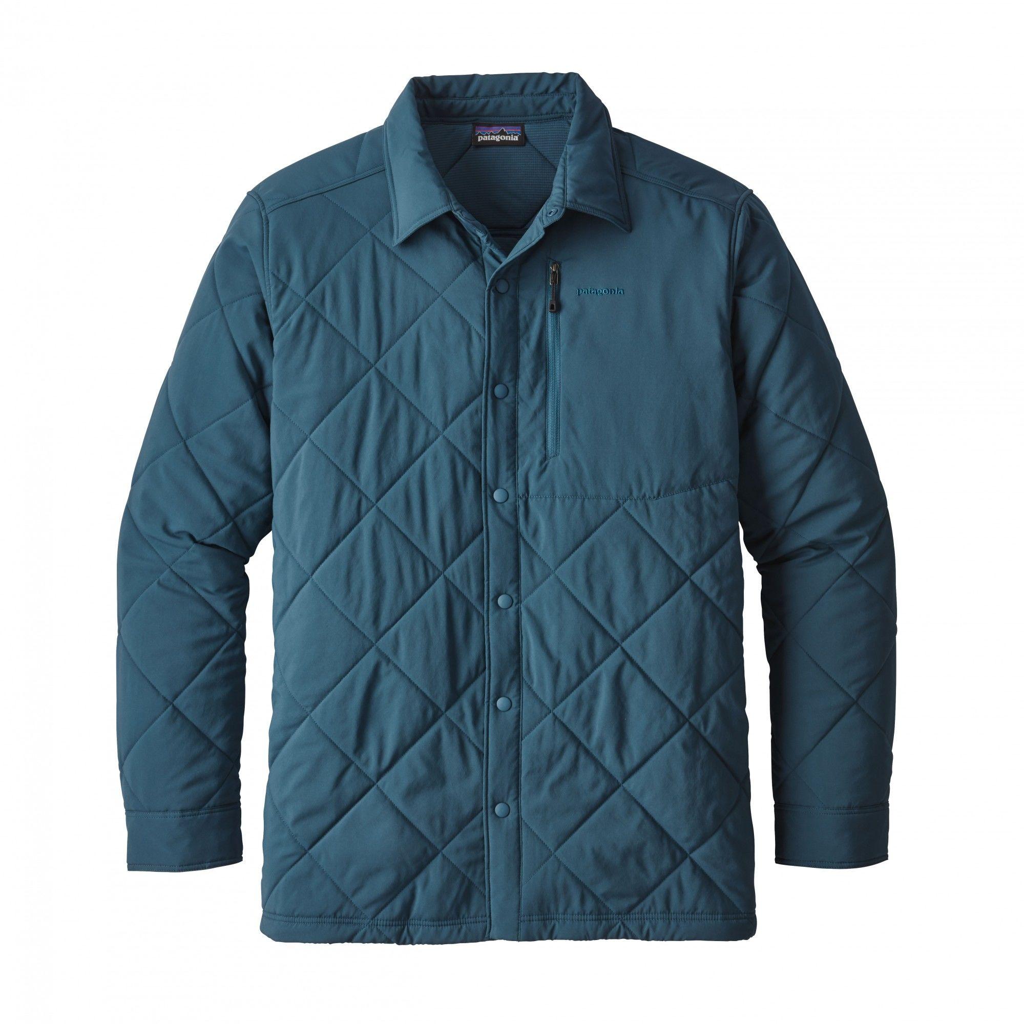 Patagonia M Tough Puff Shirt | Größe S,M,L,XL | Herren Langarm-Hemd