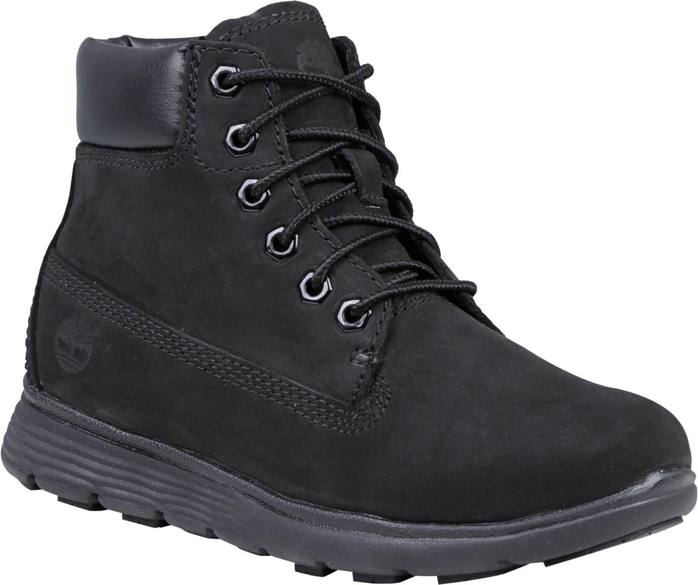 Timberland Kids Killington 6-Inch Boot Schwarz, EU 39 -Farbe Black Nubuck, 39