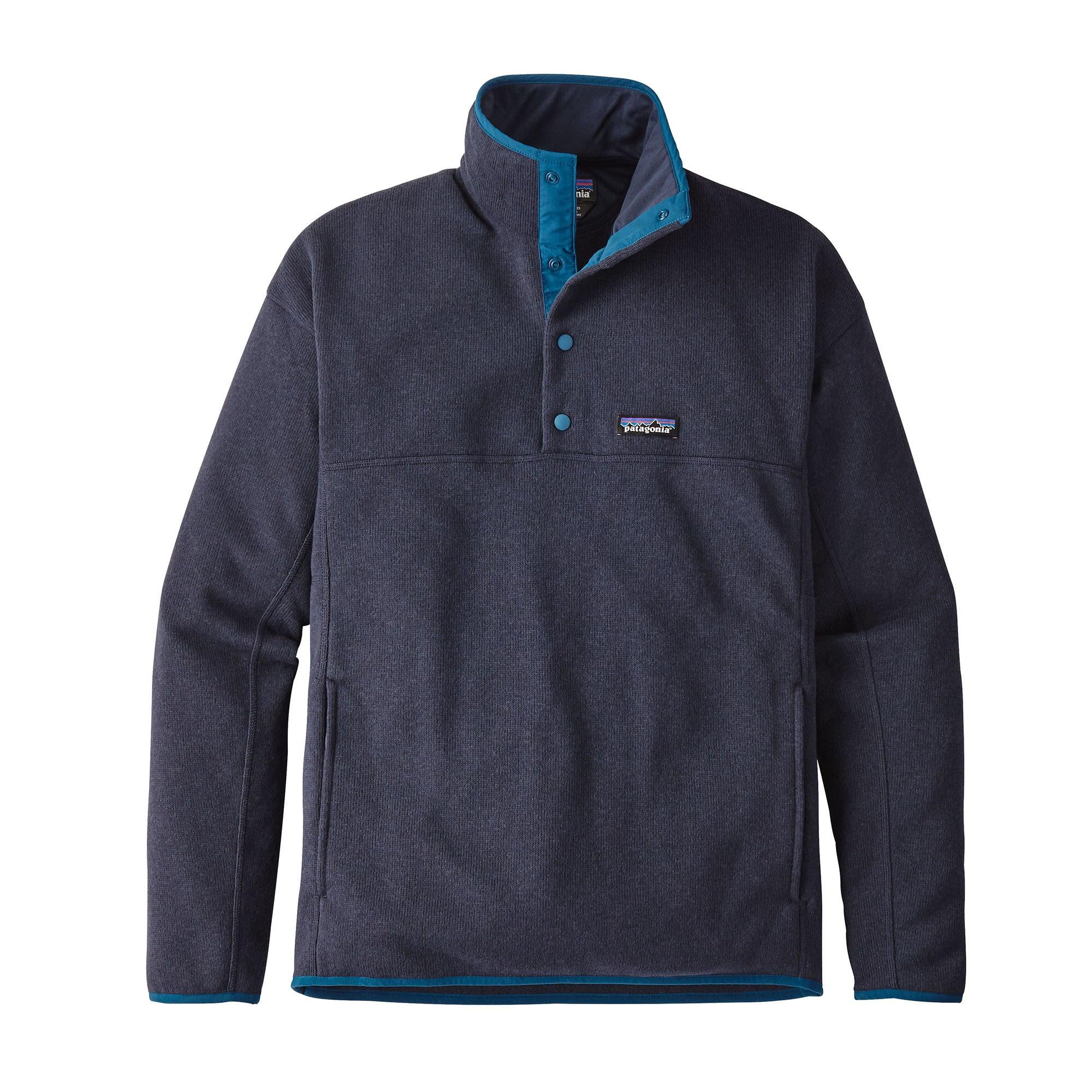 Patagonia Lightweight Better Sweater Marsupial Pullover Blau, Male  Freizeitpullo 239cd1a105