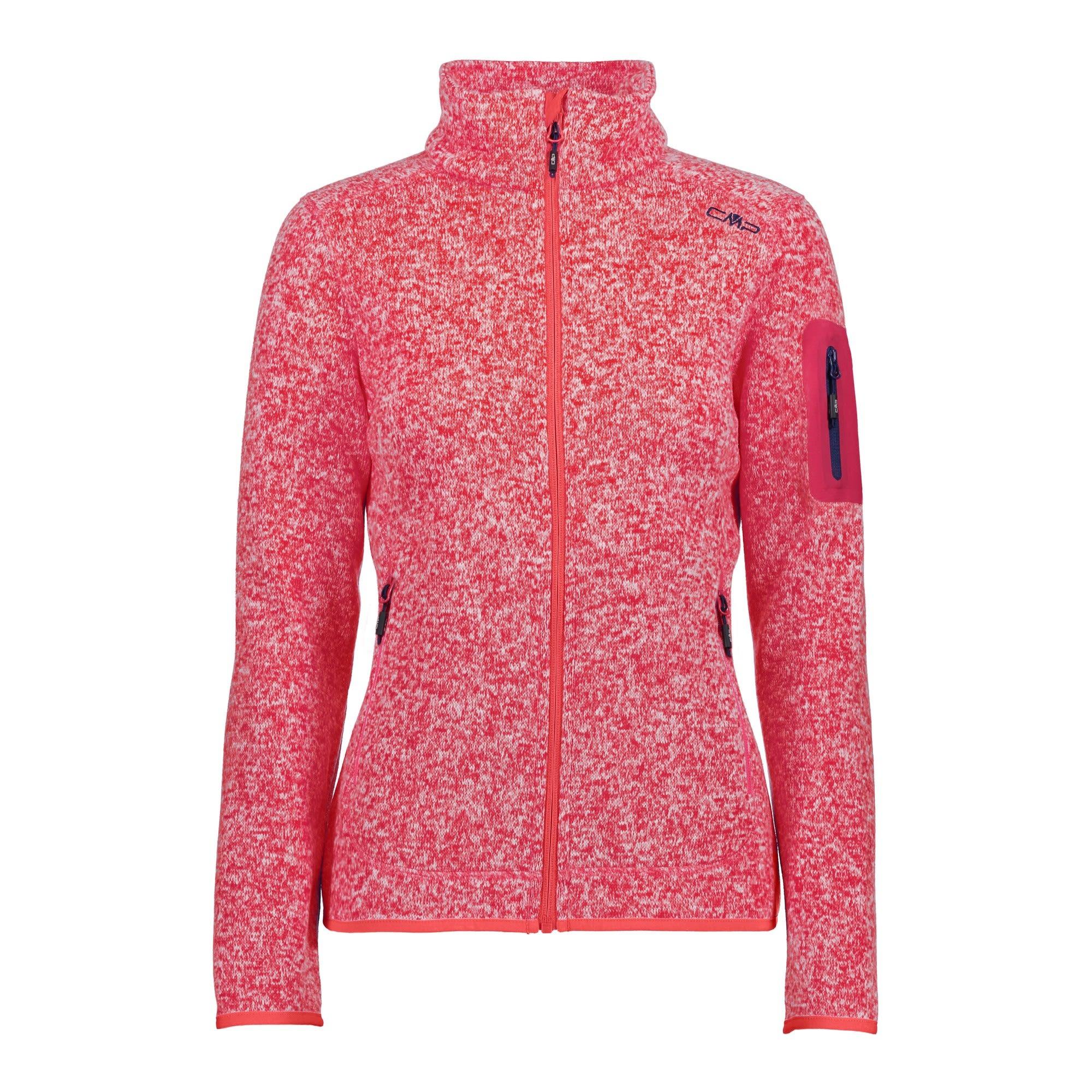 CMP W Knitted Melange Fleece Jacket (Modell Sommer 2018) | Größe 36,38,40,42,4