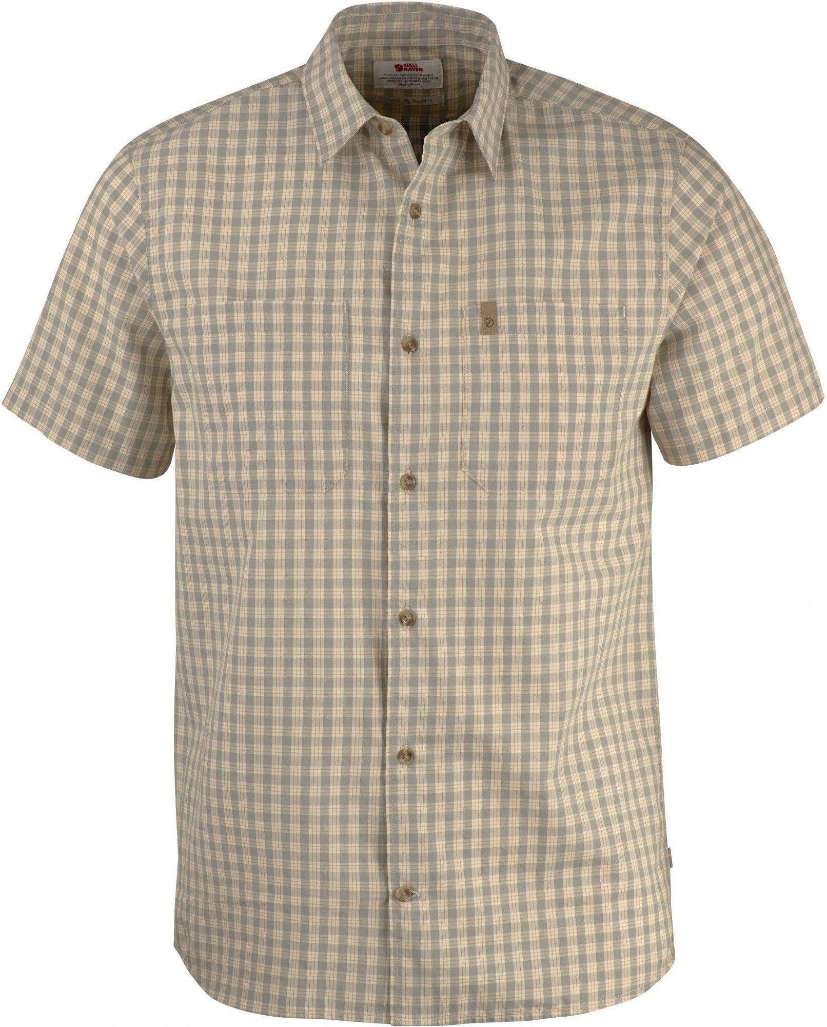 Fjällräven High Coast Shirt Short-Sleeve Kariert, Male Kurzarm-Hemd, M