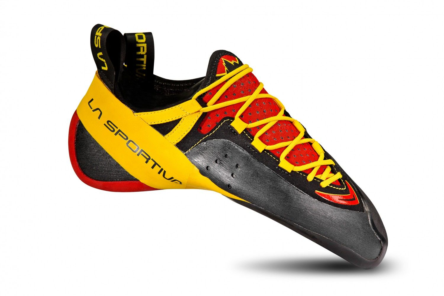 La Sportiva Genius Rot, EU 39 -Farbe Red -Yellow, 39