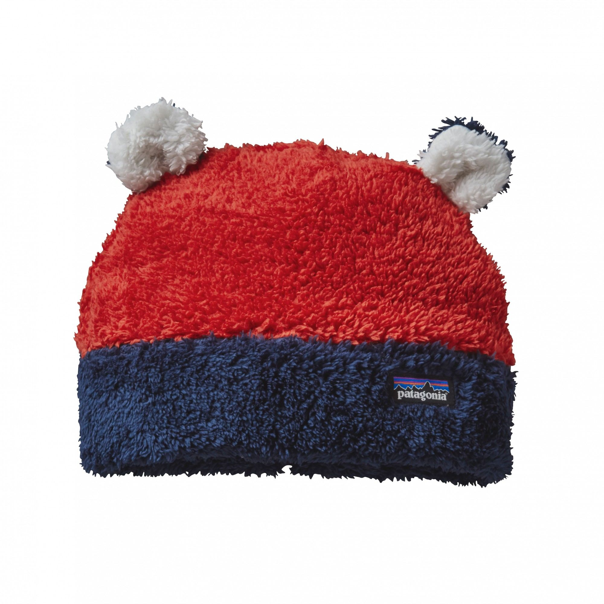 Patagonia Baby Furry Friends Hat Rot, Polartec® Accessoires, 5T