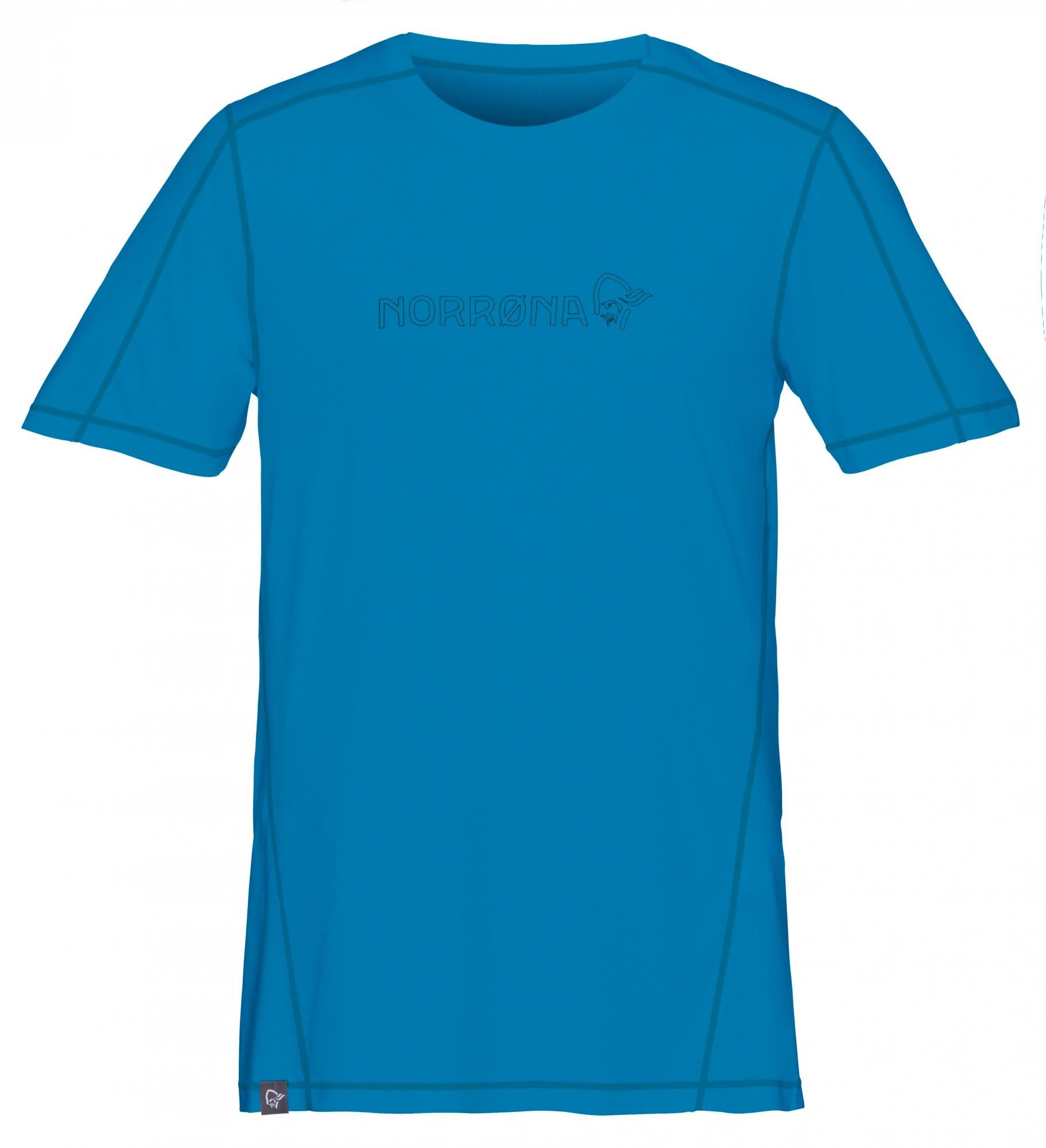Norrona /29 Tech T-Shirt Blau, Male Kurzarm-Shirt, M