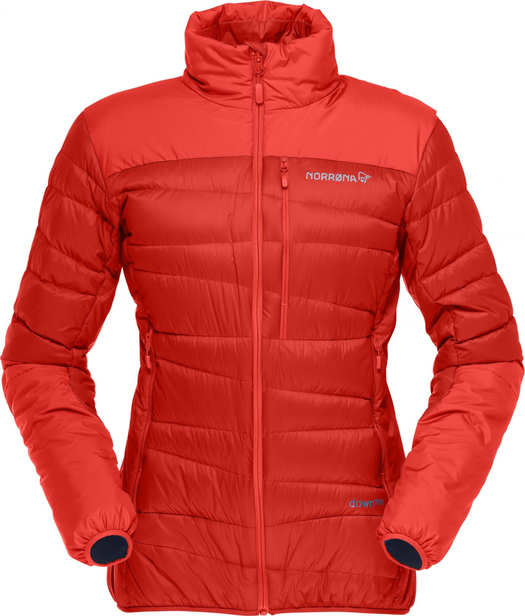 Norrona Falketind Down750 Jacket Rot, Female Daunen Daunenjacke, M