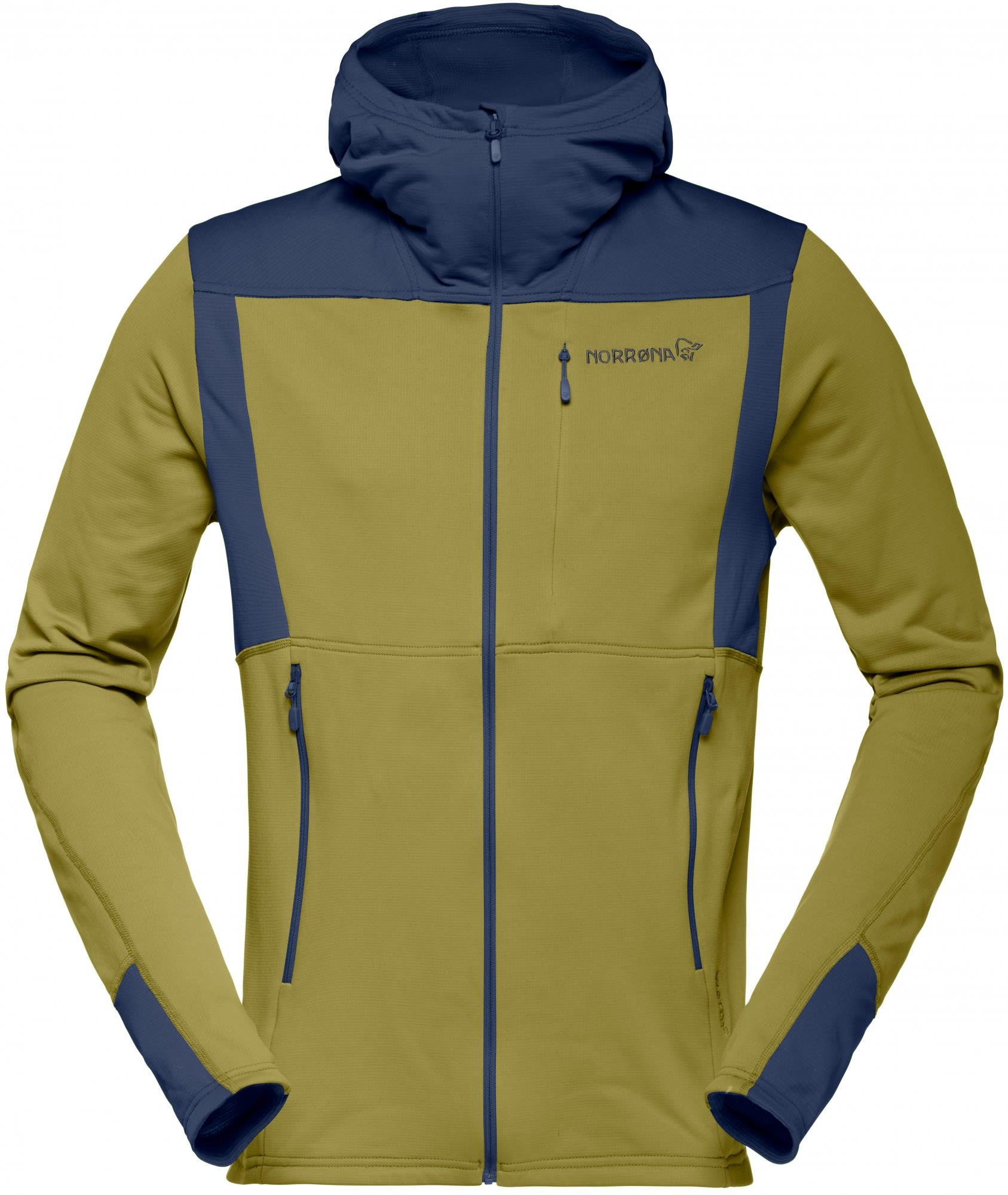 Norrona M Falketind Warm1 Stretch Zip Hoodie | Größe S,M,L,XL | Herren Fleecej
