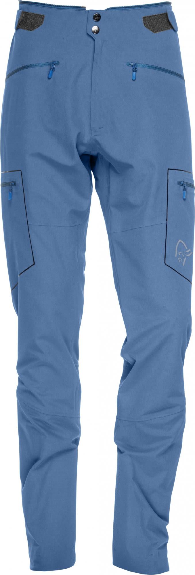 Norrona Trollveggen Flex1 Pants Blau, Male Hose, L