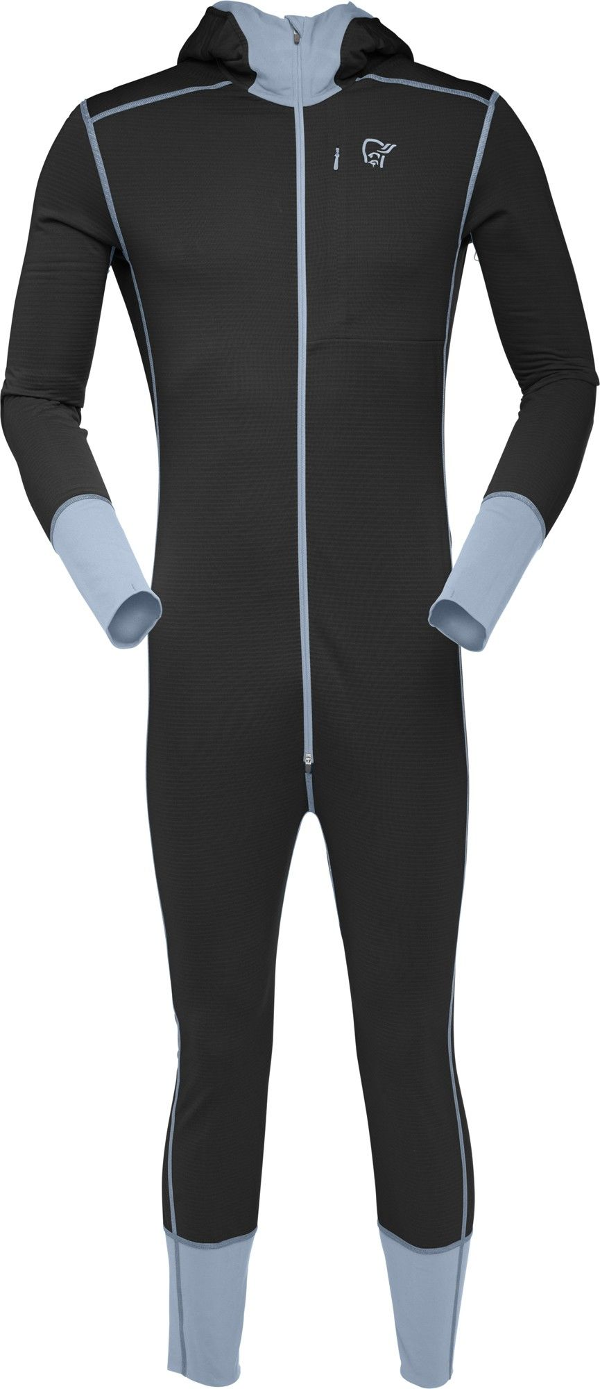 Norrona Super ONE-Piece Schwarz, Male Polartec® Oberteil, L
