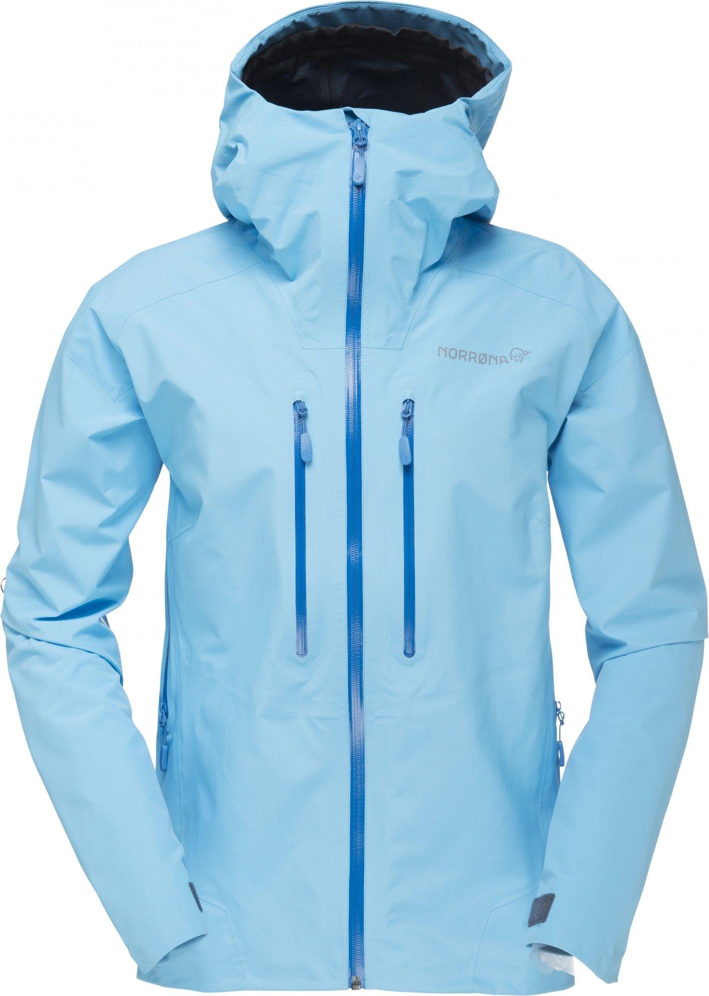 Norrona Trollveggen Gore-Tex Light Pro Jacket Blau, Female Gore-Tex® Regenjacke