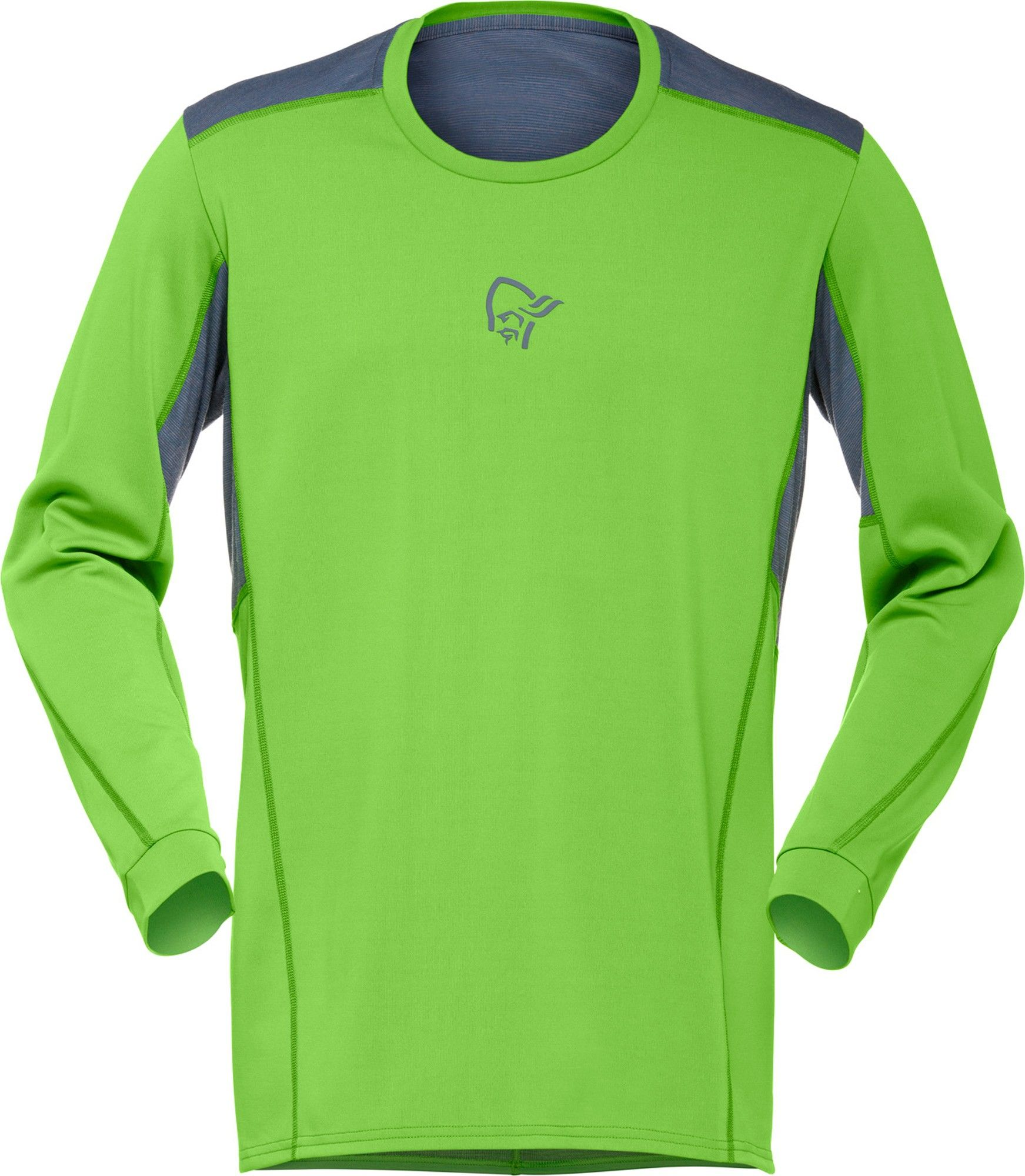Norrona M Falketind Super Wool Shirt | Größe S,M,L,XL | Herren Langarm-Shirt