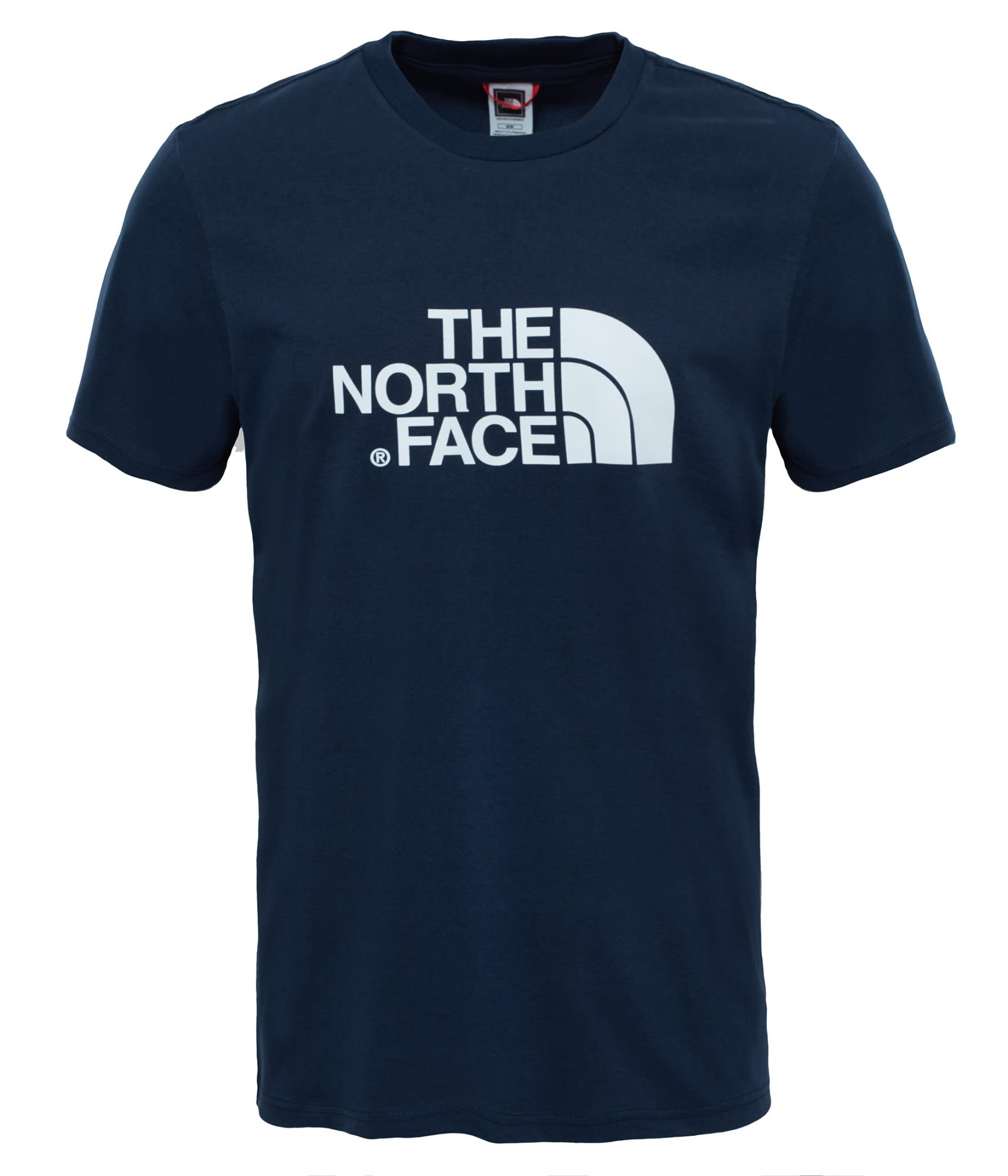The North Face S/S Easy Tee Blau, Male Kurzarm-Shirt, S