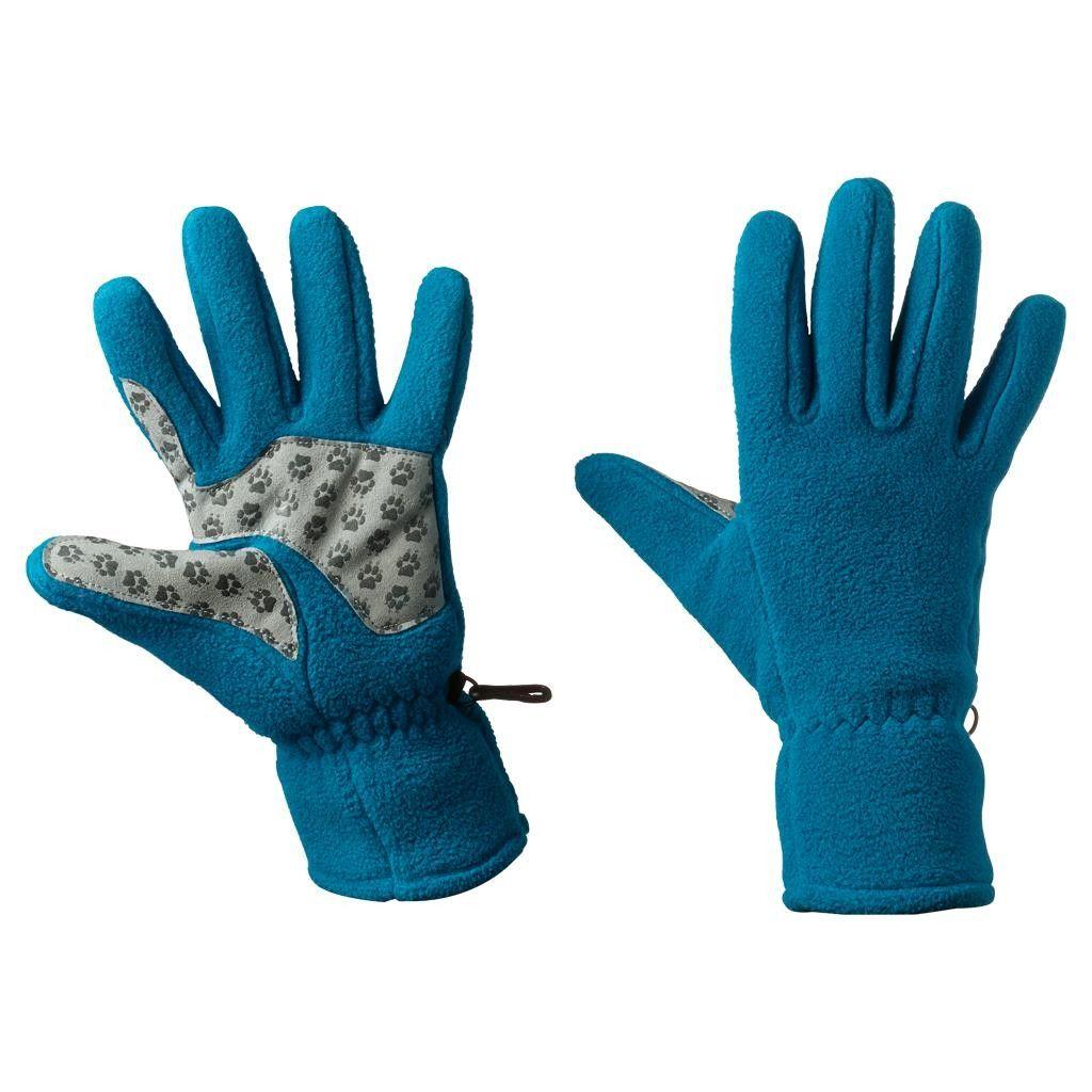 Jack Wolfskin Nanuk PAW Glove Blau, Female Accessoires, XS