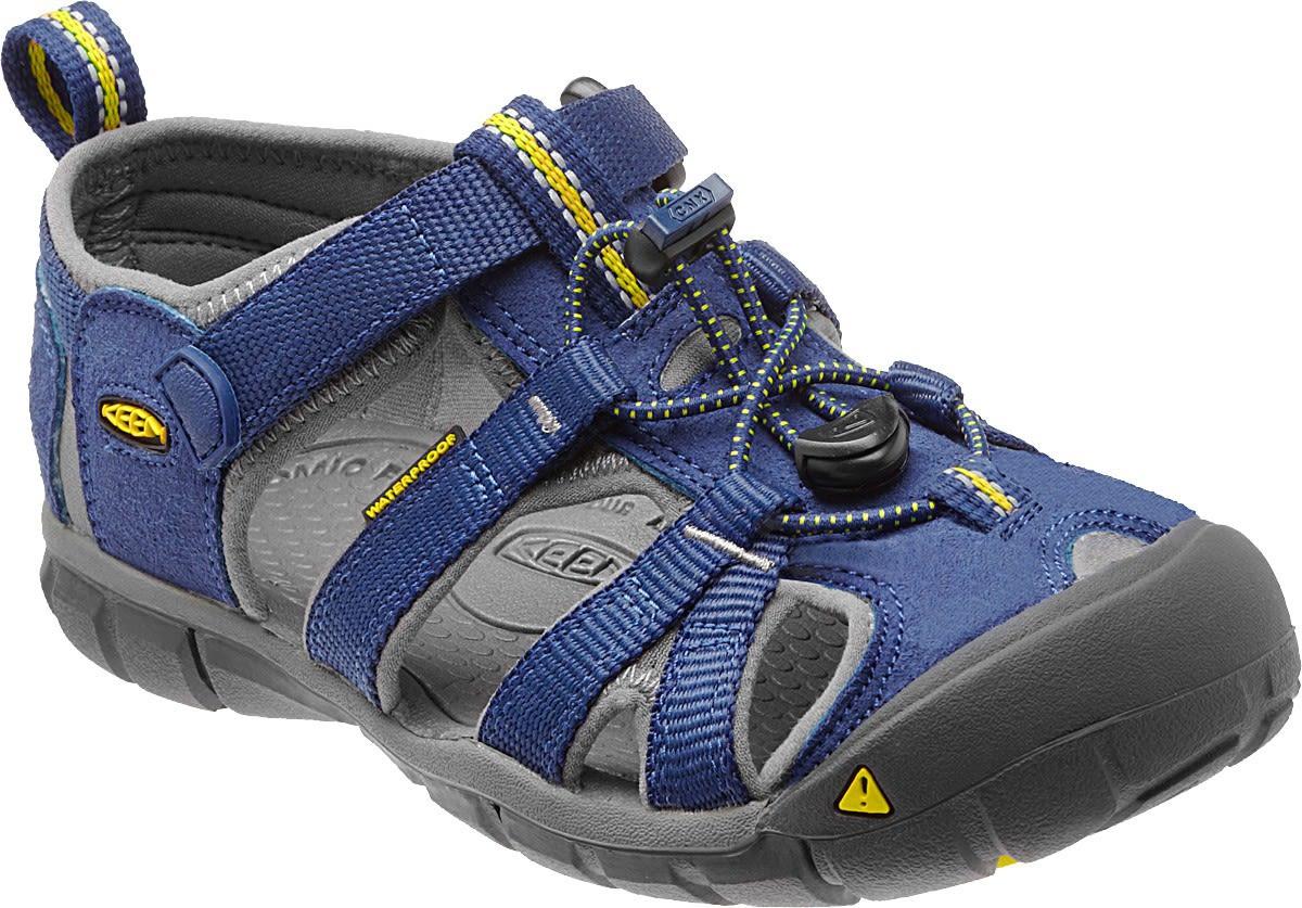 Keen Kids Seacamp II CNX Grau, EU 34 -Farbe Blue Depths -Gargoyle, 34