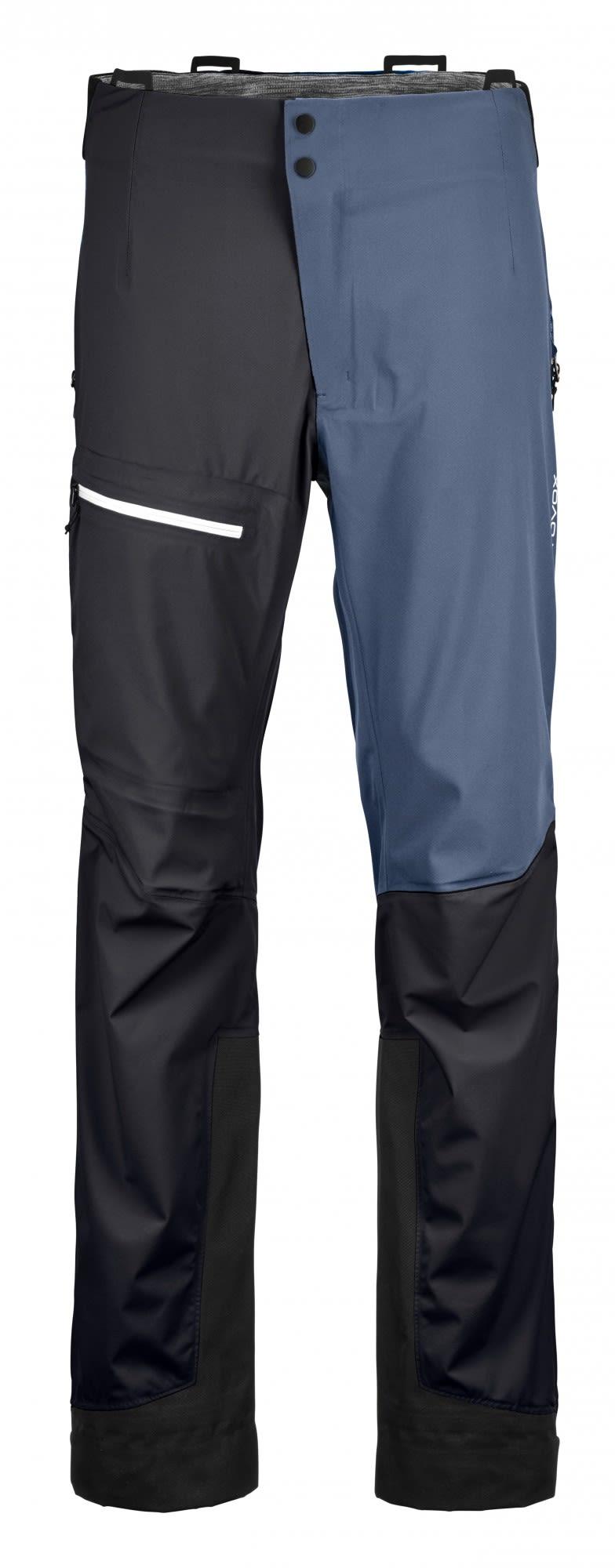 Ortovox Merino Naked Sheep 3L Ortler Pants Schwarz, Male Dermizax™ Hose, L