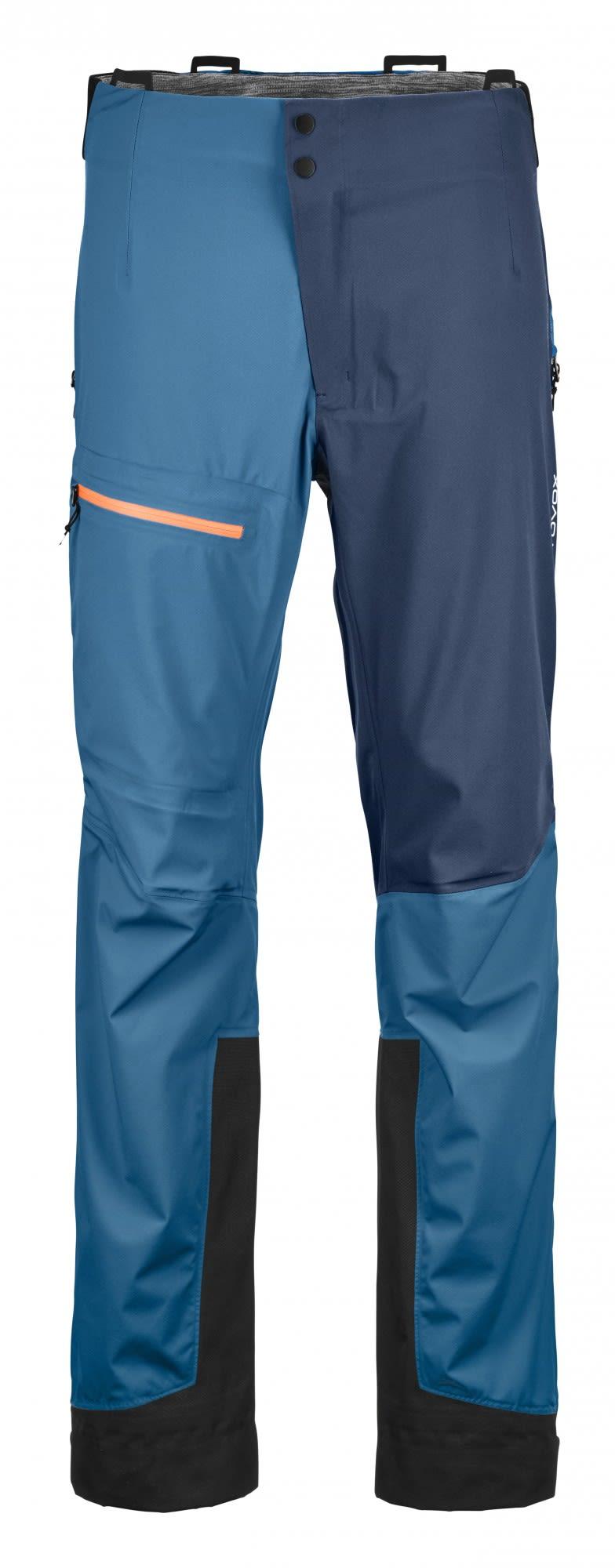 Ortovox Merino Naked Sheep 3L Ortler Pants Blau, Male Dermizax™ Hose, XL