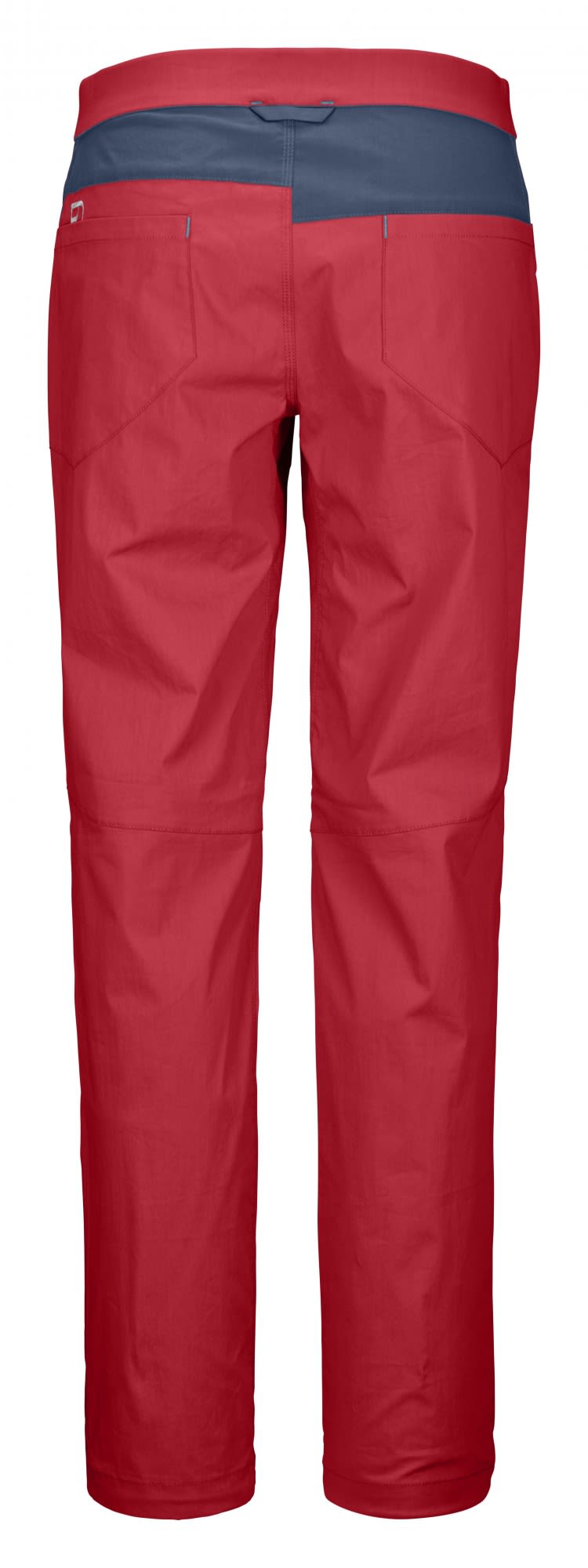 Ortovox Merino Shield Canvas Light Colodri Pants Rot, Female Merino Hose, S
