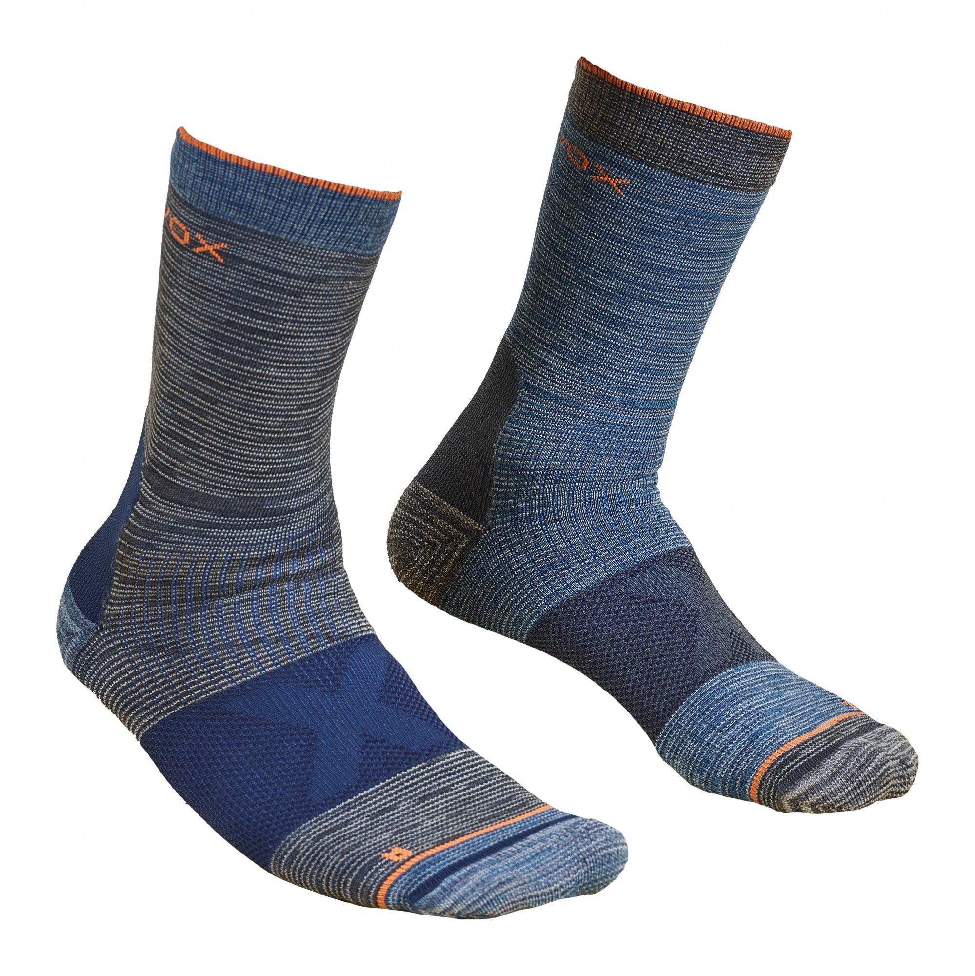 Ortovox Merino Socks Alpinist Mid Grau, Male Merino Socken, 45 -47