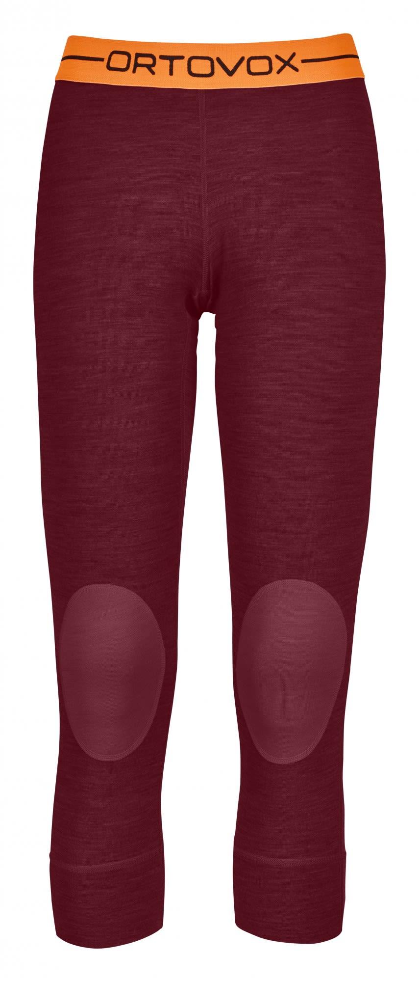 Ortovox 185 Merino Rock'n'wool Short Pants Rot, Female Merino Unterwäsche, S