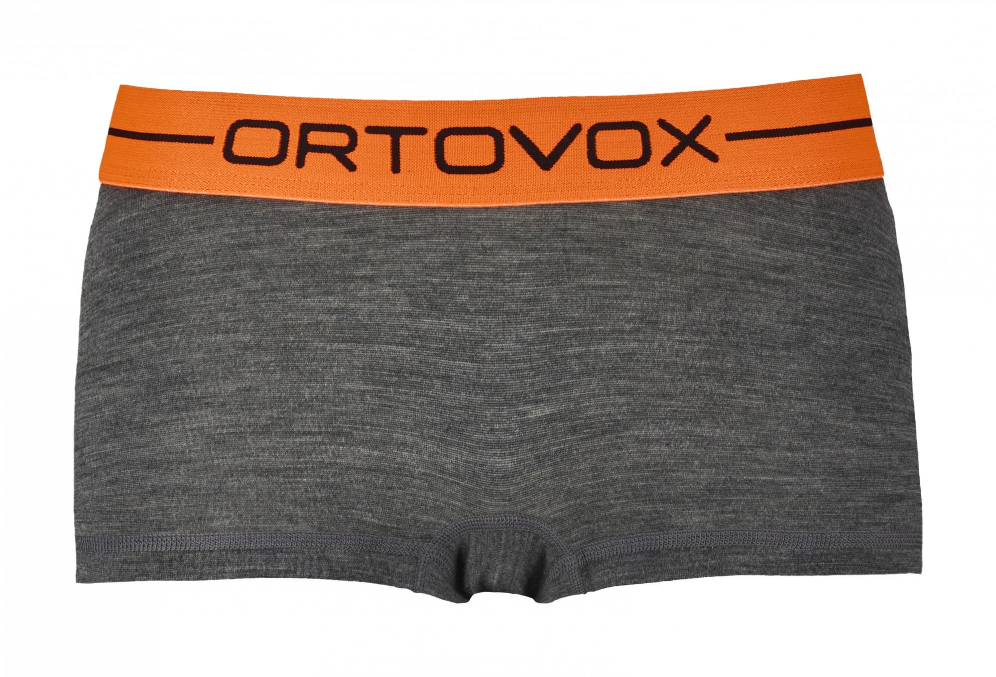 Ortovox 185 Merino Rock'n'wool Hot Pants Grau, Female Merino Unterwäsche, M