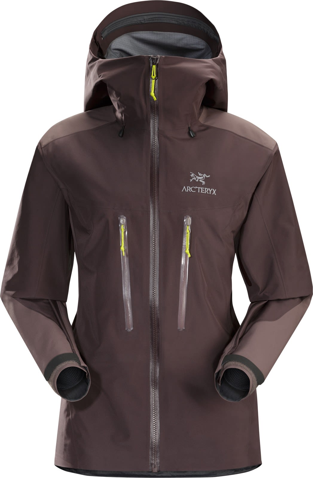 Arcteryx Alpha AR Jacket Braun, Female Gore-Tex® Regenjacke & Hardshells, L