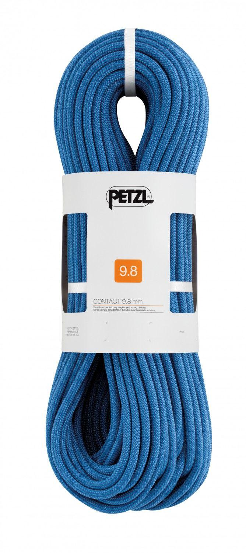 Petzl Contact 9.8MM 60M Blau, Klettern, 60 m