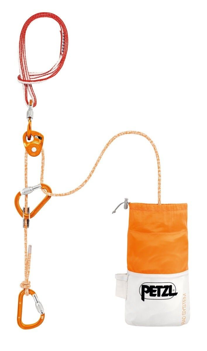 Petzl RAD System Orange, Klettersteig-Ausrüstung, 30 m