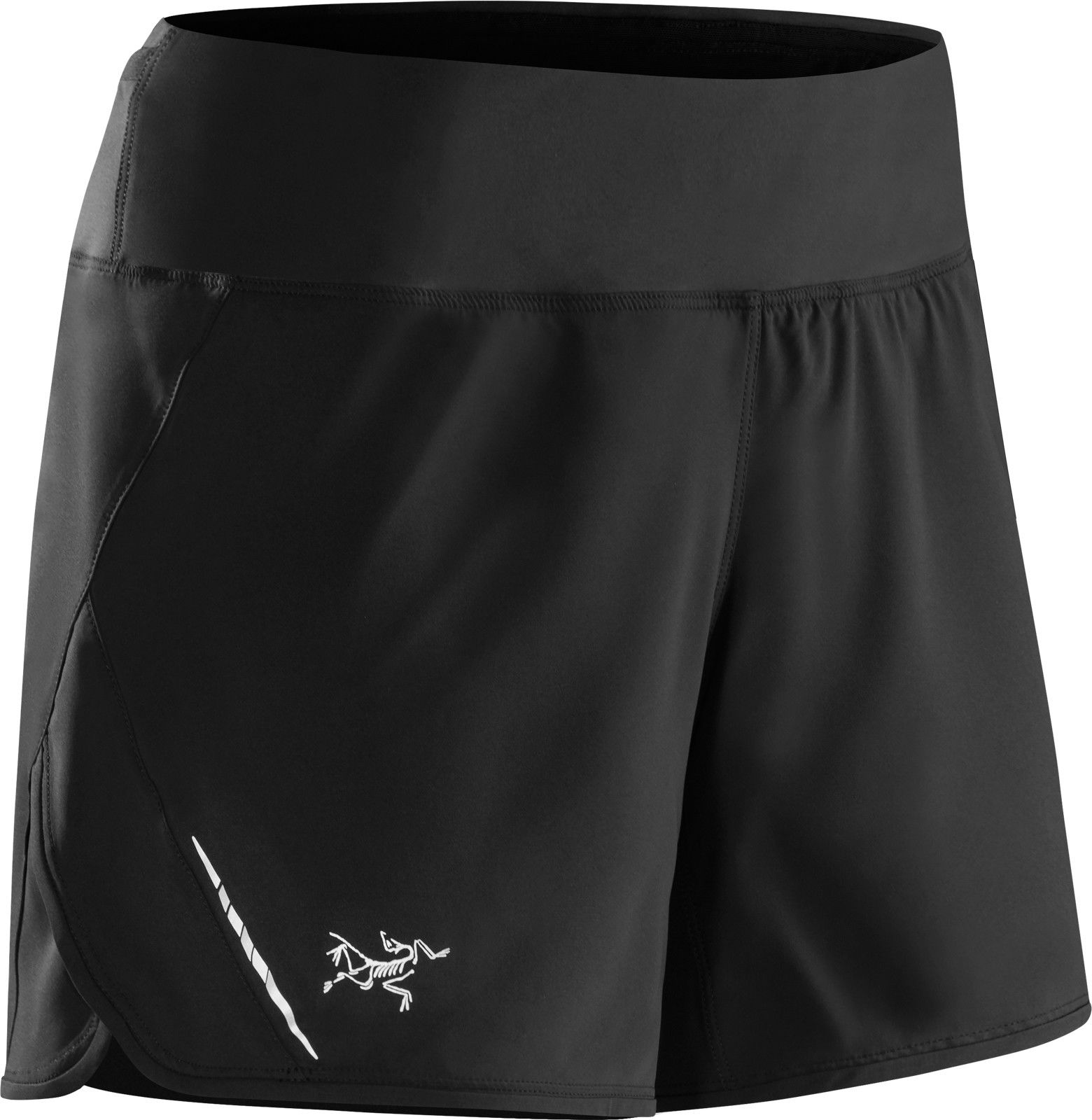 Arcteryx Lyra Short Schwarz, Female Shorts, L