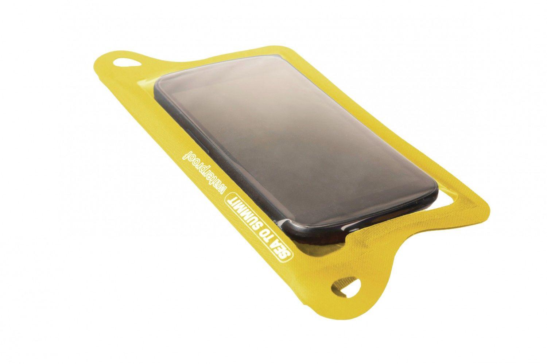 Sea to Summit TPU Guide Waterproof Smartphone Case Gelb, Taschen, One Size