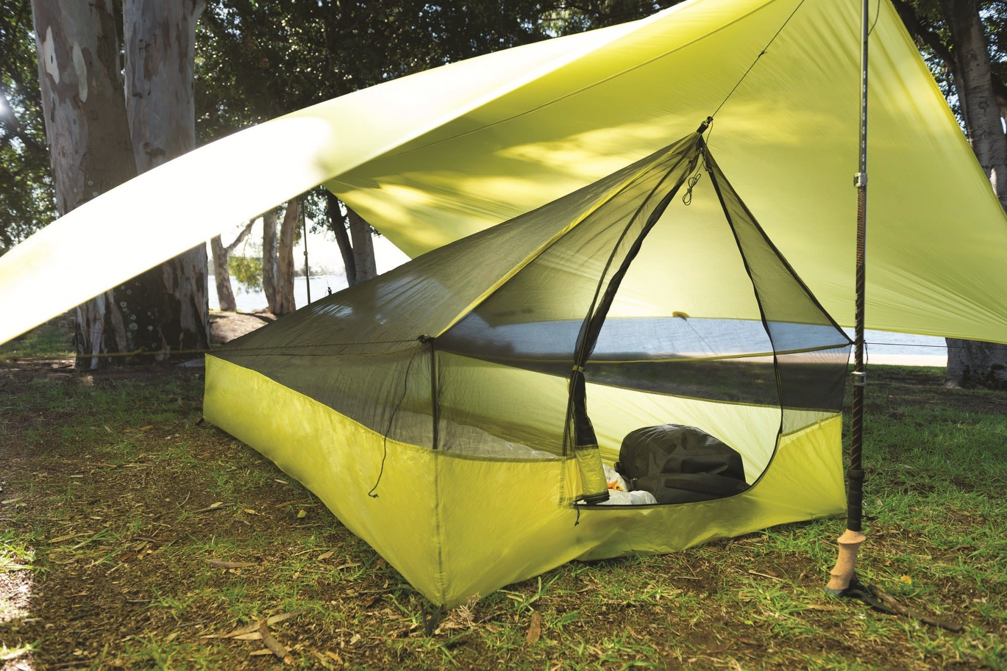 Sea to Summit Escapist 15D Ultra-Mesh BUG Tent Schwarz, Innenzelt, 1-2 Personen