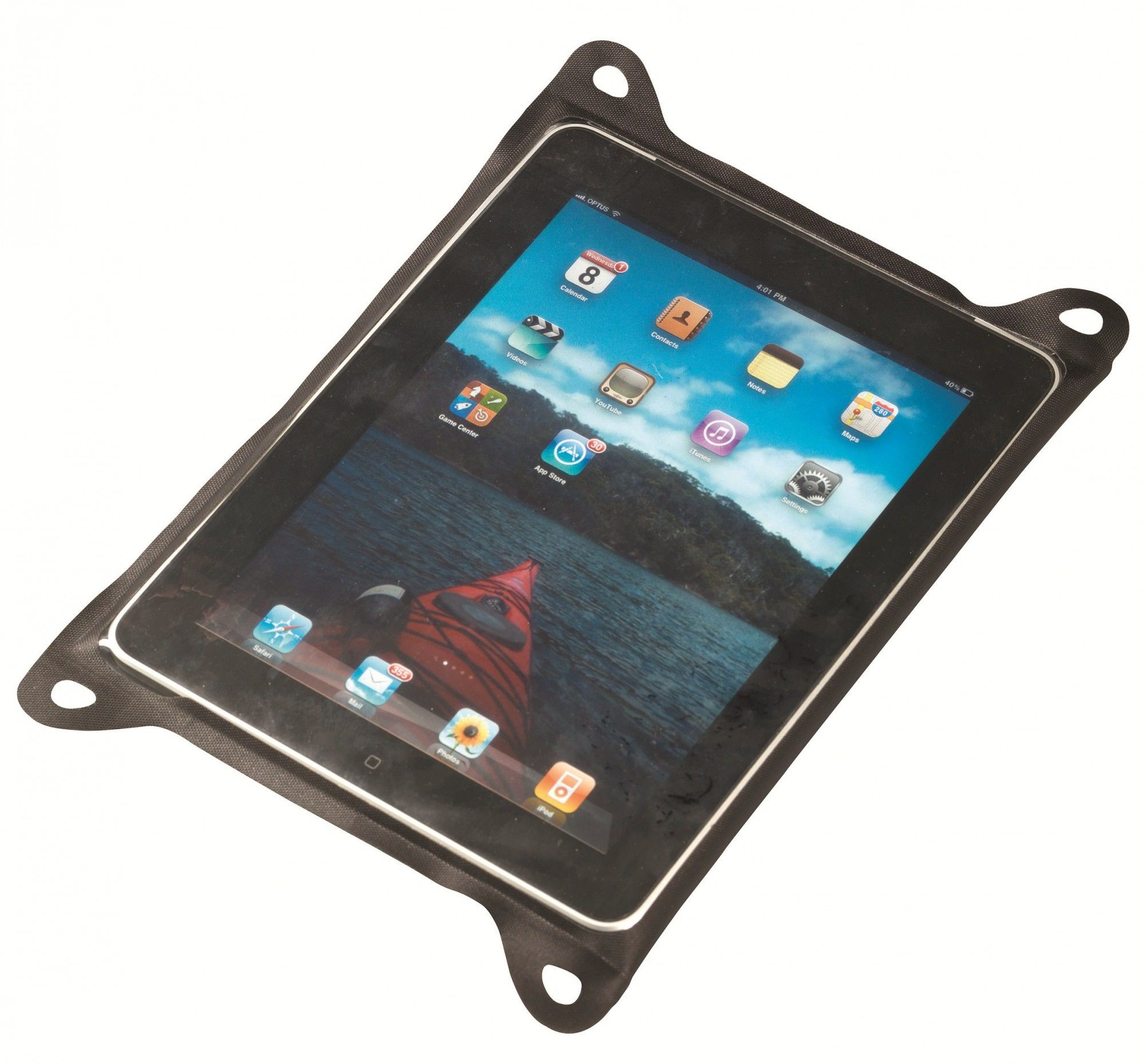 Sea to Summit TPU Case for Large Tablets Schwarz, Sonstige Taschen, One Size