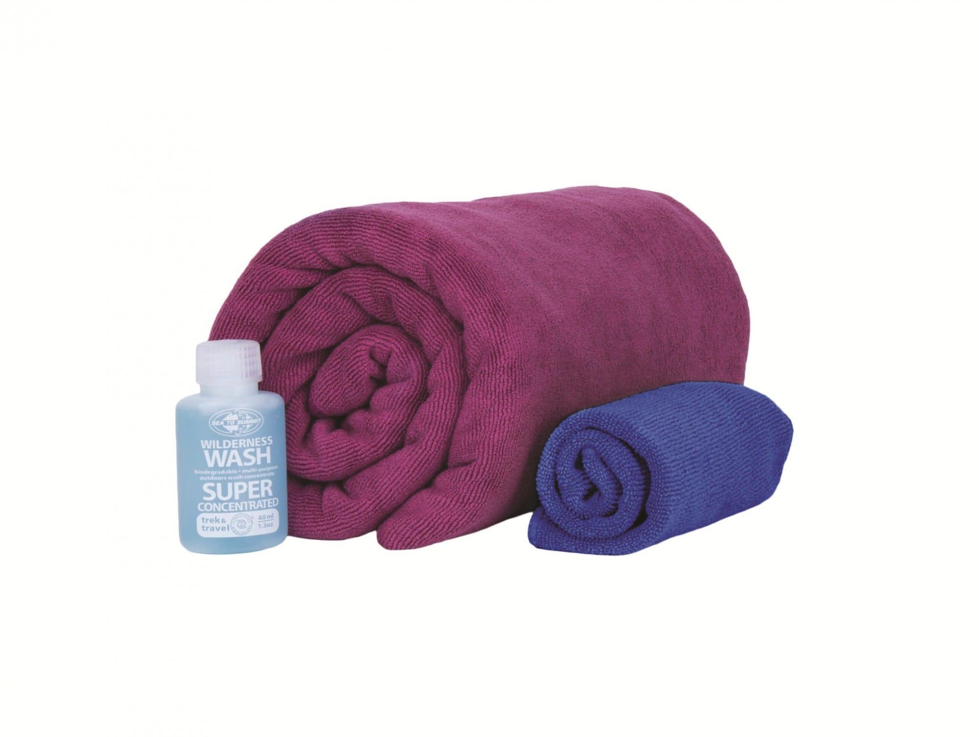 Sea to Summit TEK Towel Wash KIT L | Größe One Size |  Handtücher