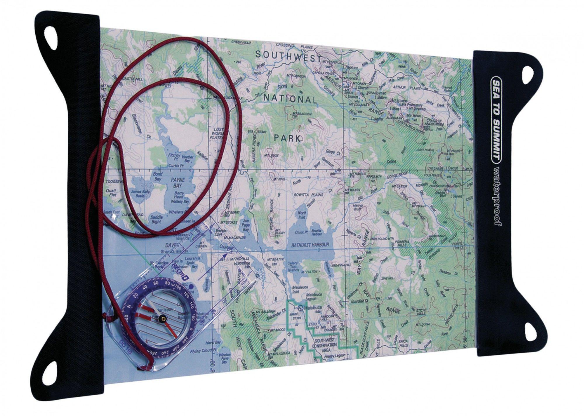 Sea to Summit TPU MAP Case Large Schwarz, Dokumenttasche, One Size