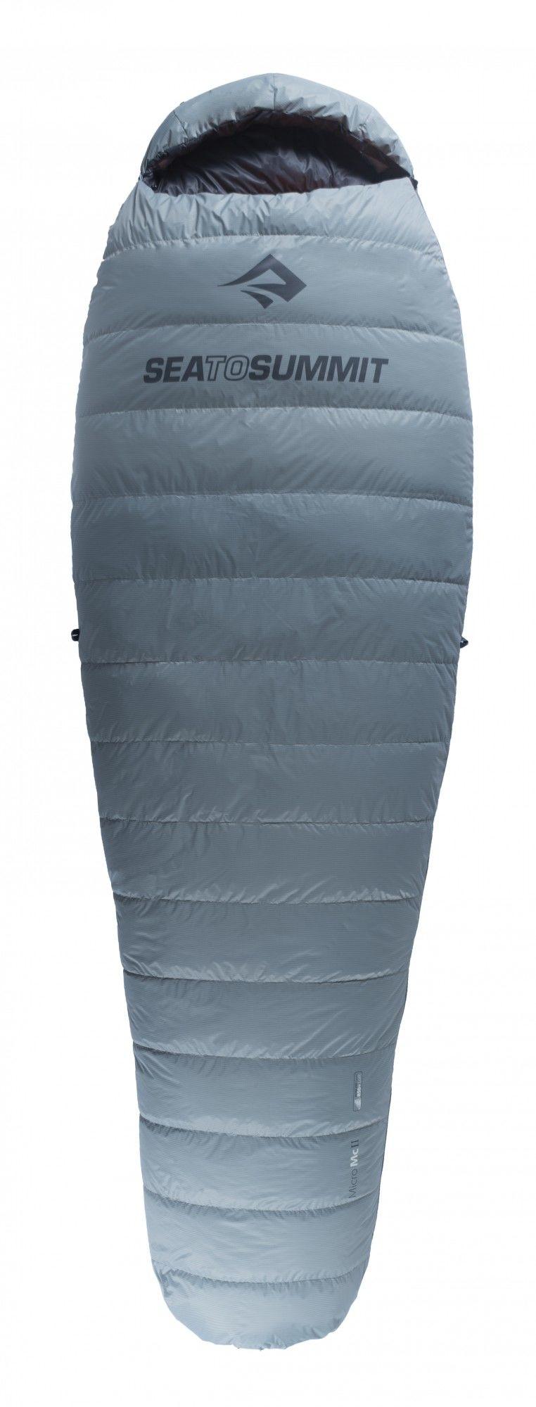 Sea to Summit Micro Series-MC II Regular Grau, Daunen Daunenschlafsack, Regular