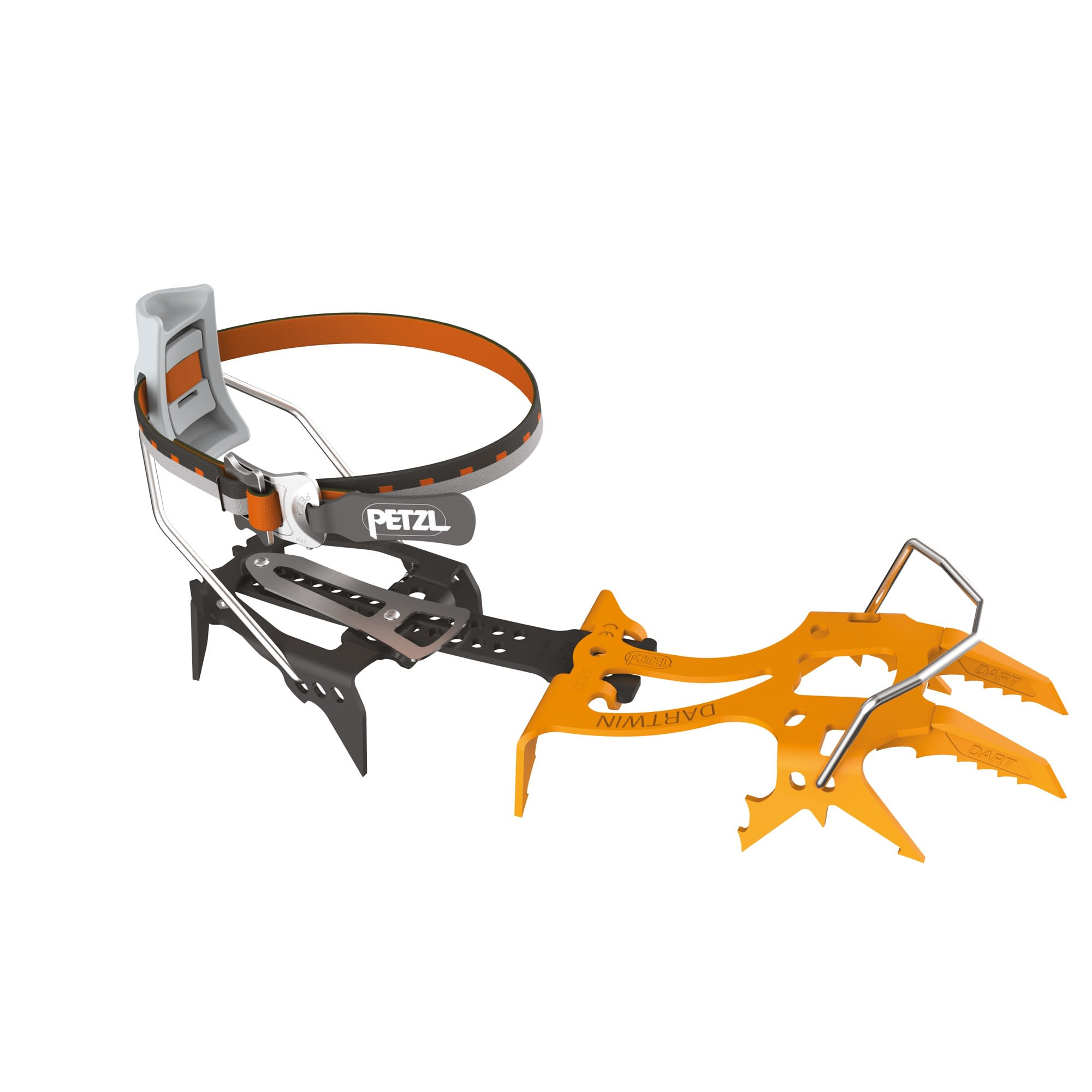 Petzl Dartwin Leverlock FIL Orange, One Size -Farbe Orange, One Size