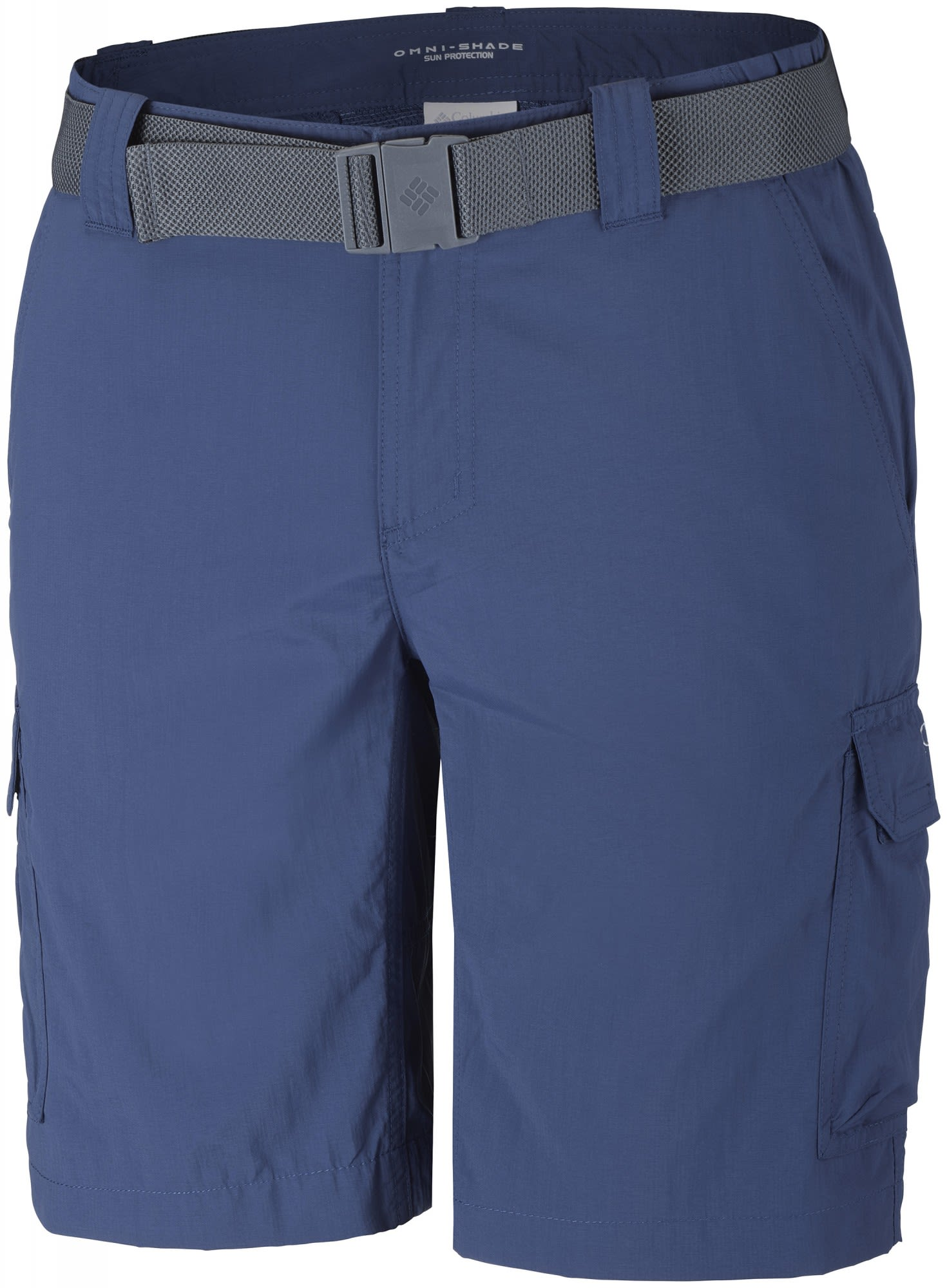 Columbia Silver Ridge II Cargo Short Blau, Male Shorts, 36 -10