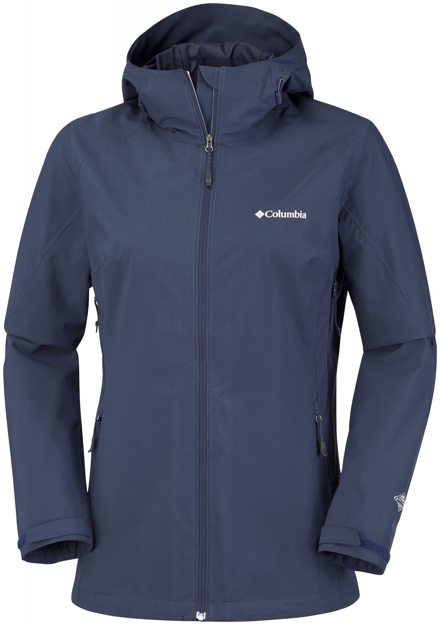 Columbia Trek Light Stretch Jacket Blau, Female Freizeitjacke, M