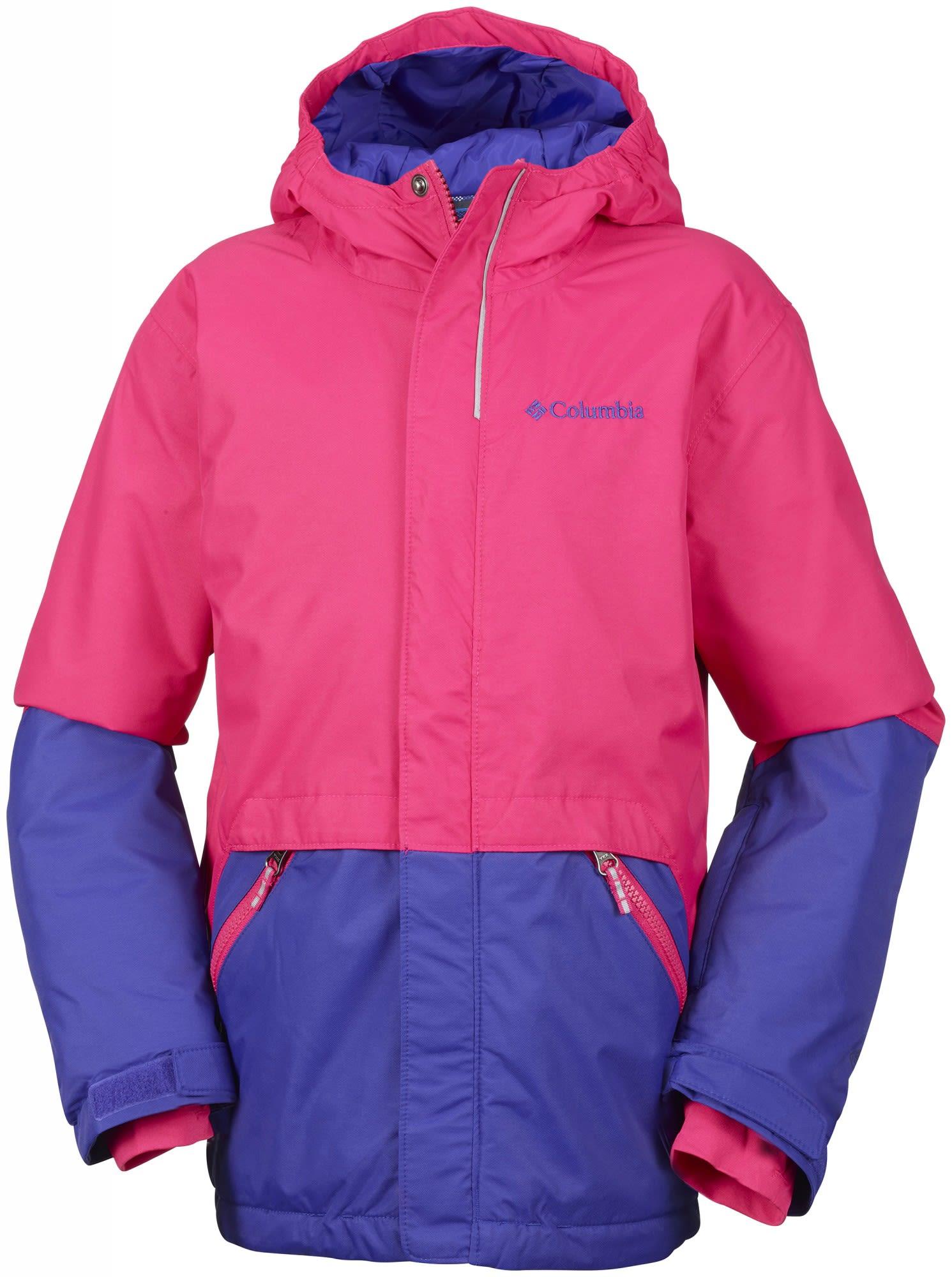 Columbia Girls Slope Star Jacket Blau, Female Freizeitjacke, S
