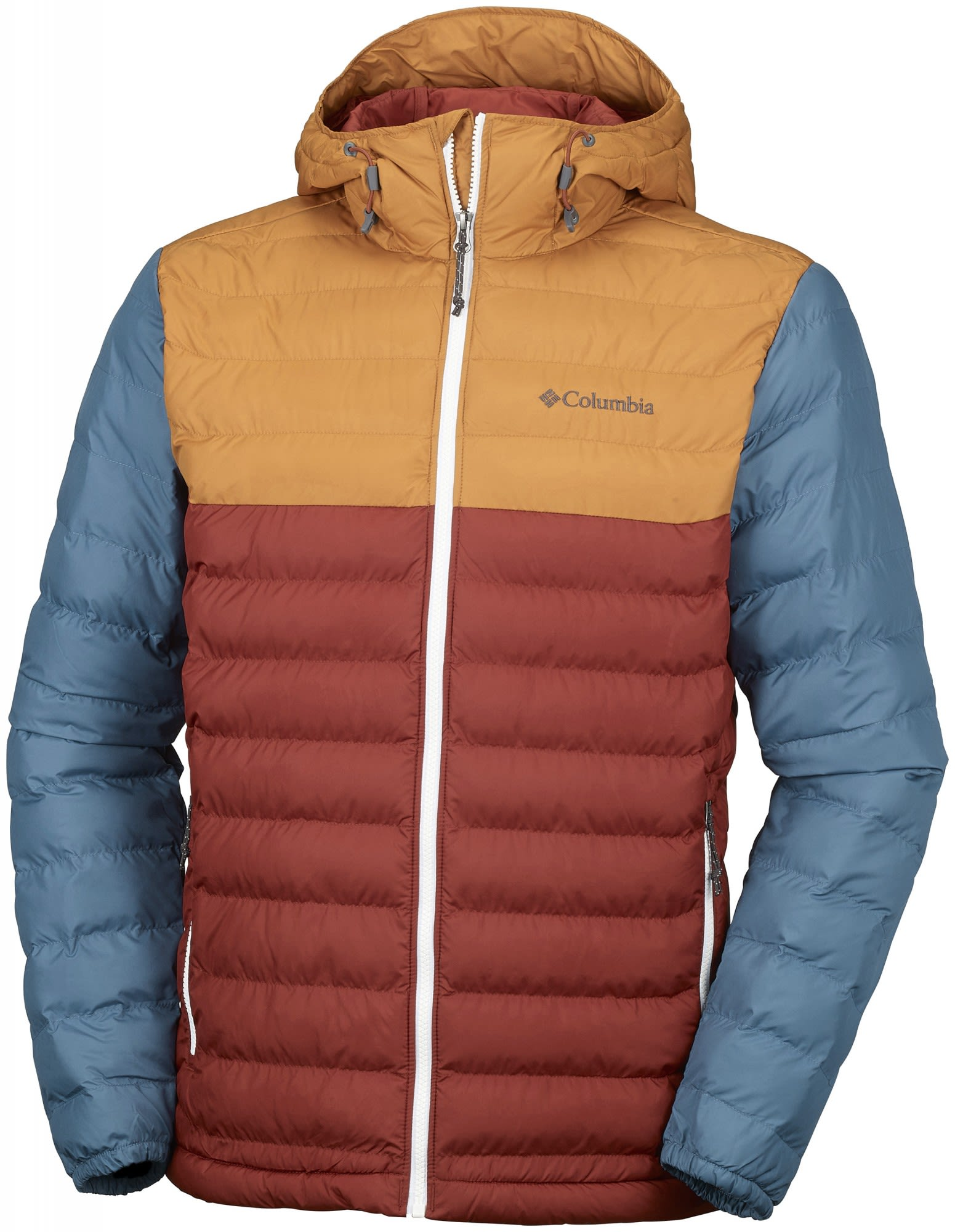 Columbia M Powder Lite Hooded Jacket | Herren Freizeitjacke