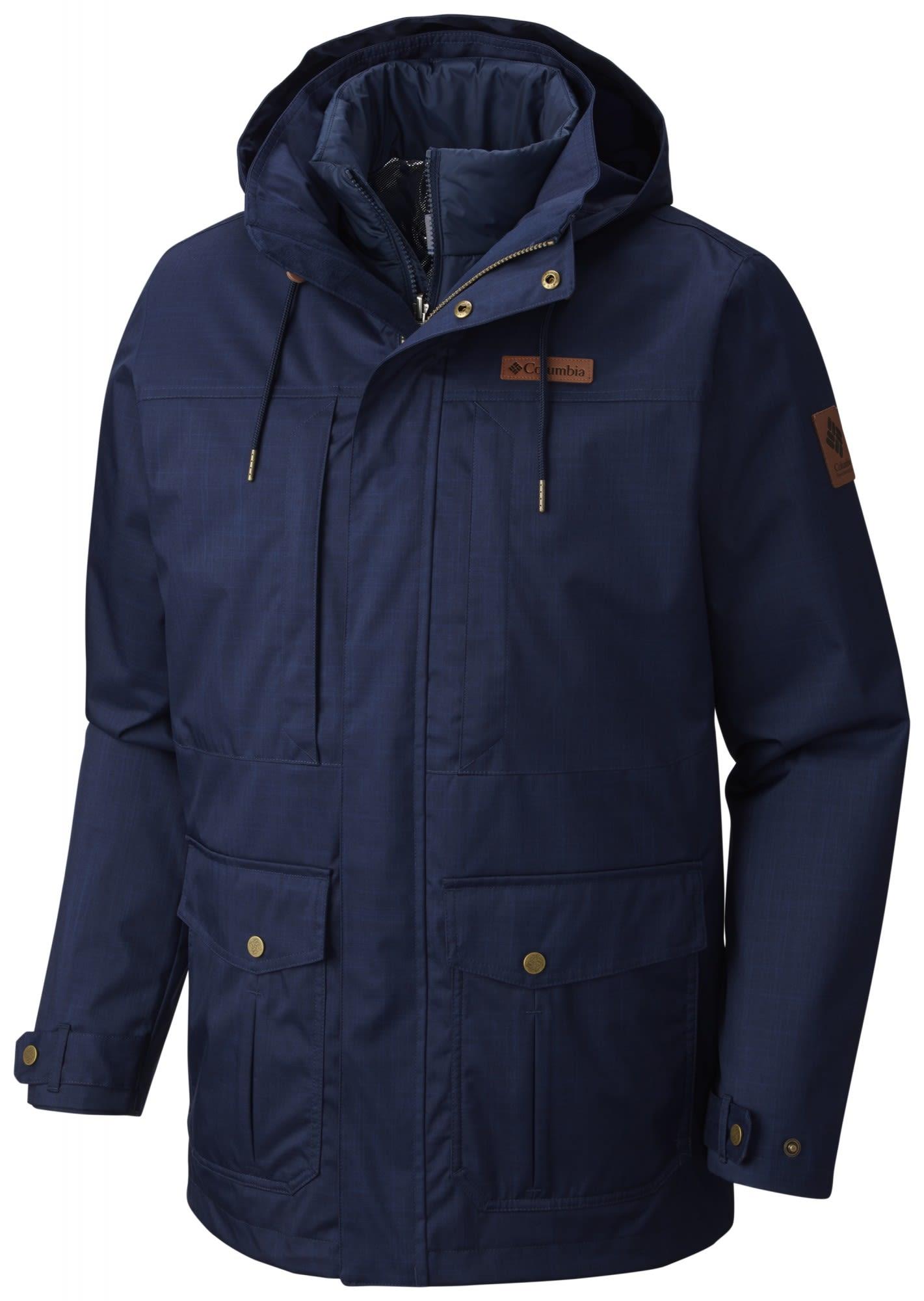 Columbia Horizons Pine Interchange Jacket Blau, Male Doppeljacke-3-in-1-Jacke, X